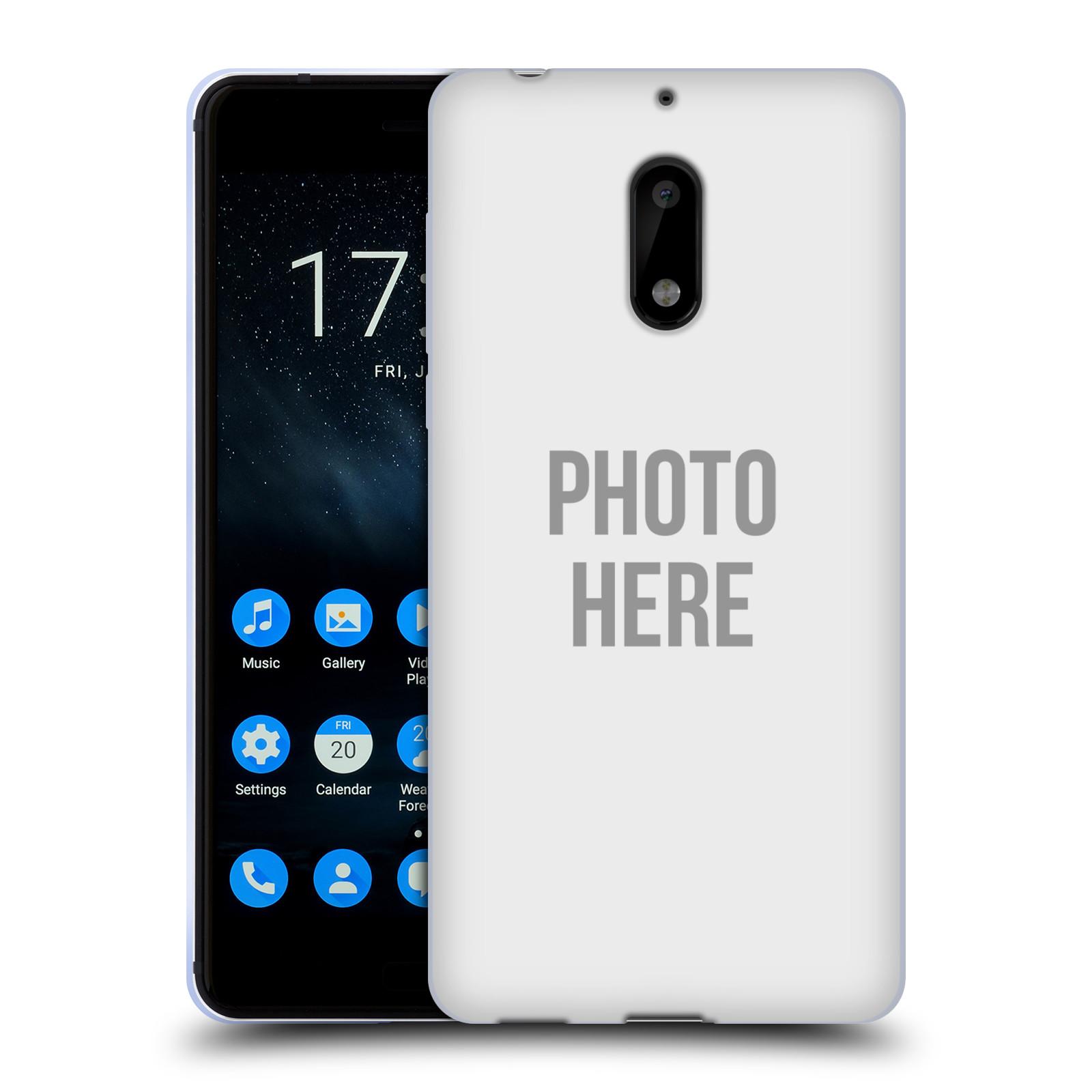 Silikonové pouzdro na mobil Nokia 6 - Head Case - s vlastním motivem