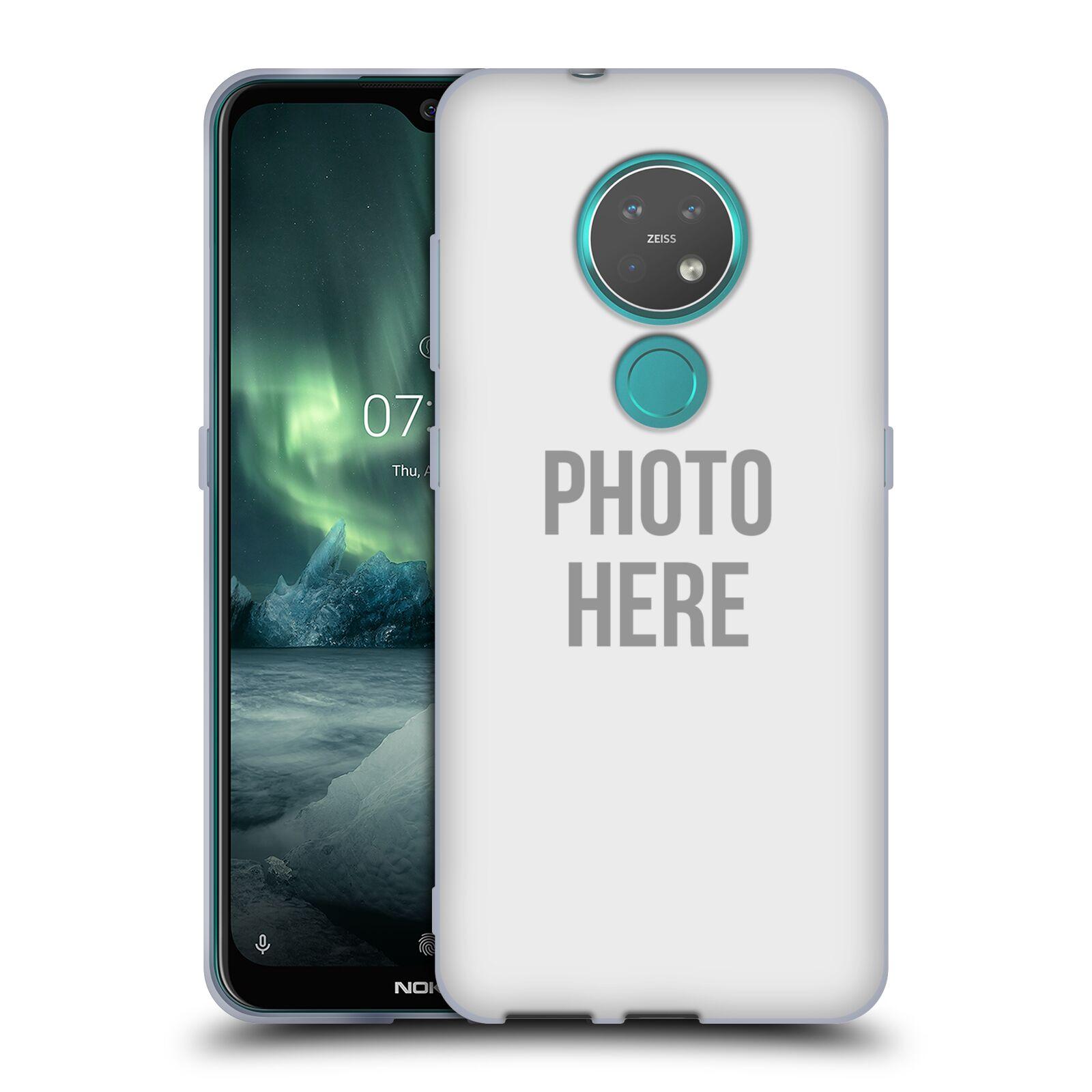 Silikonové pouzdro na mobil Nokia 7.2 - Head Case - s vlastním motivem