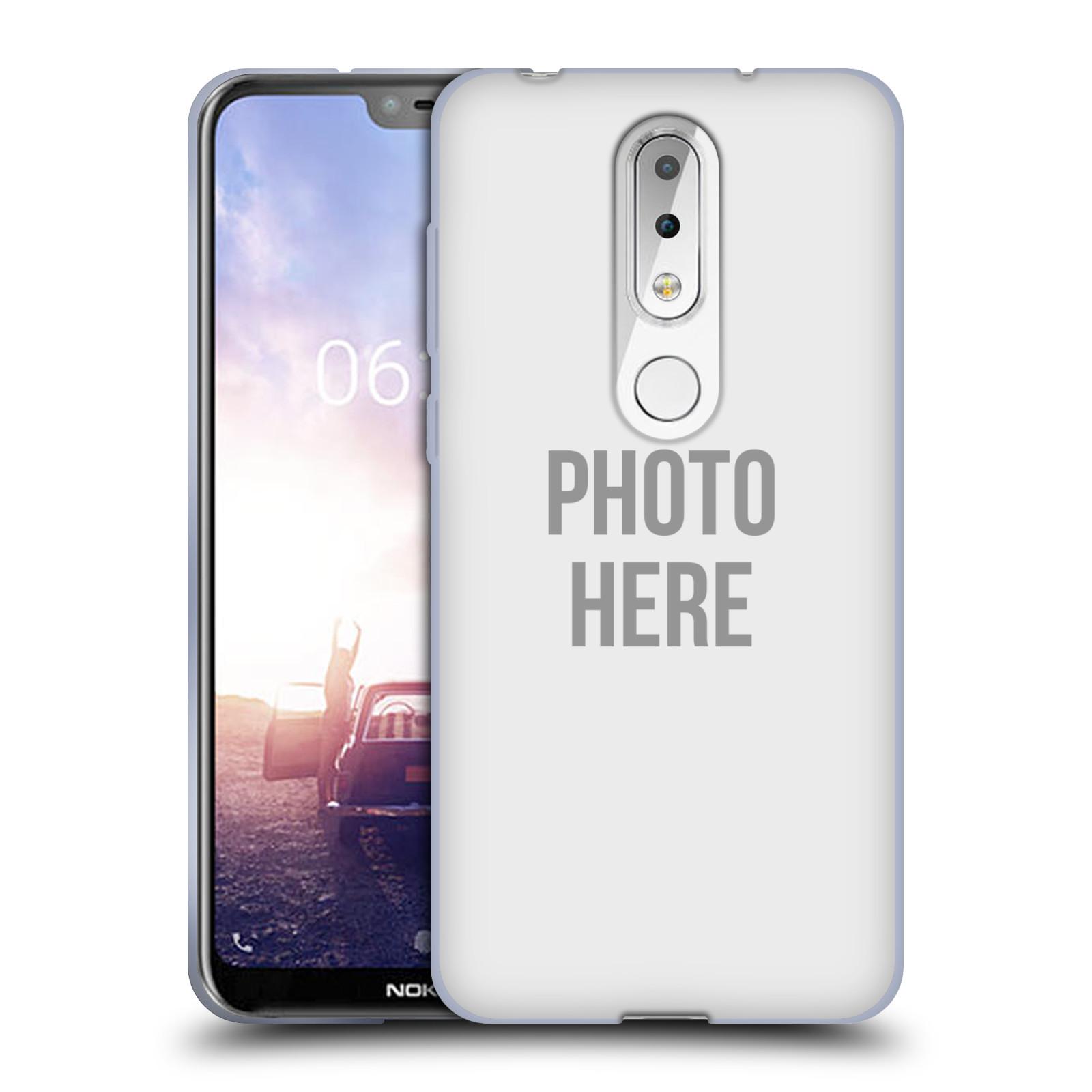 Silikonové pouzdro na mobil Nokia 6.1 Plus - Head Case - s vlastním motivem