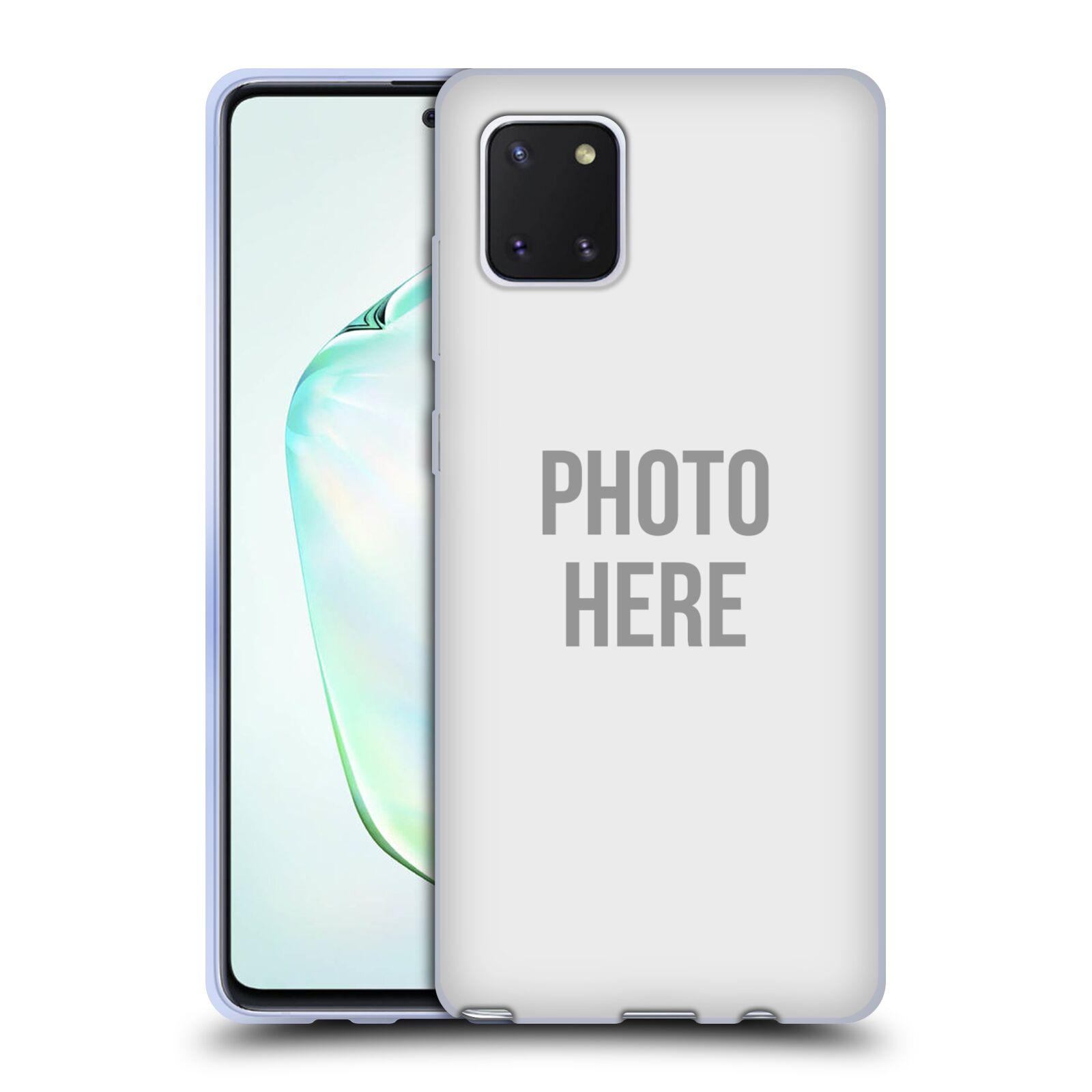 Silikonové pouzdro na mobil Samsung Galaxy Note 10 Lite - Head Case - s vlastním motivem