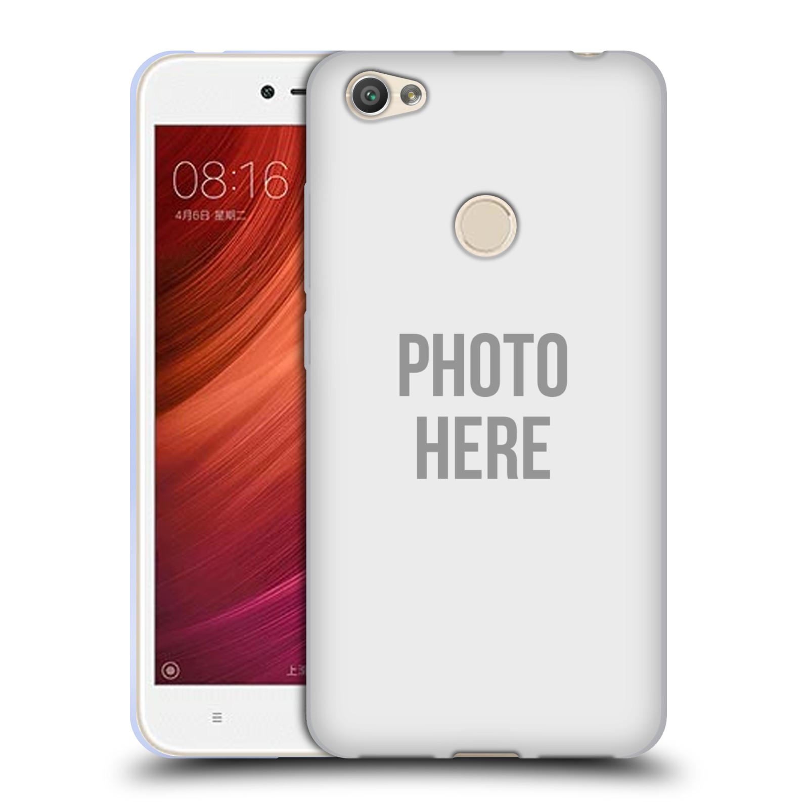 Silikonové pouzdro na mobil Xiaomi Redmi Note 5A - Head Case - s vlastním motivem