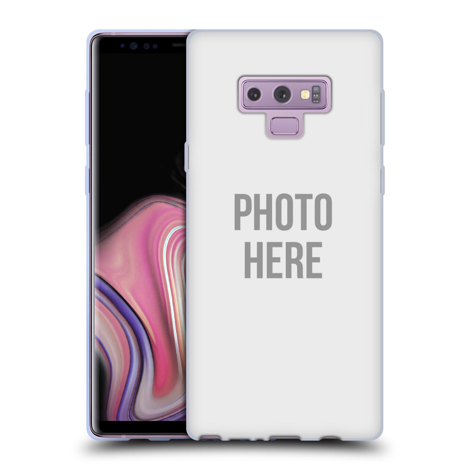Silikonové pouzdro na mobil Samsung Galaxy Note 9 - Head Case - s vlastním motivem