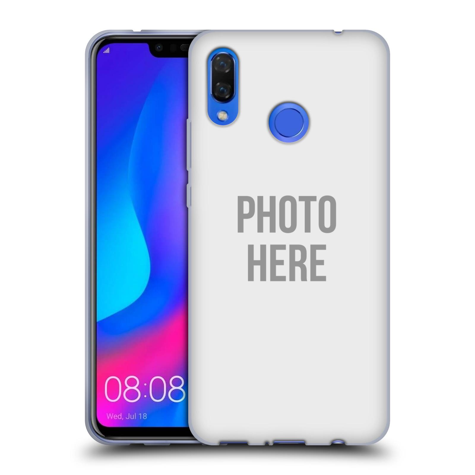 Silikonové pouzdro na mobil Huawei Nova 3 - Head Case - s vlastním motivem