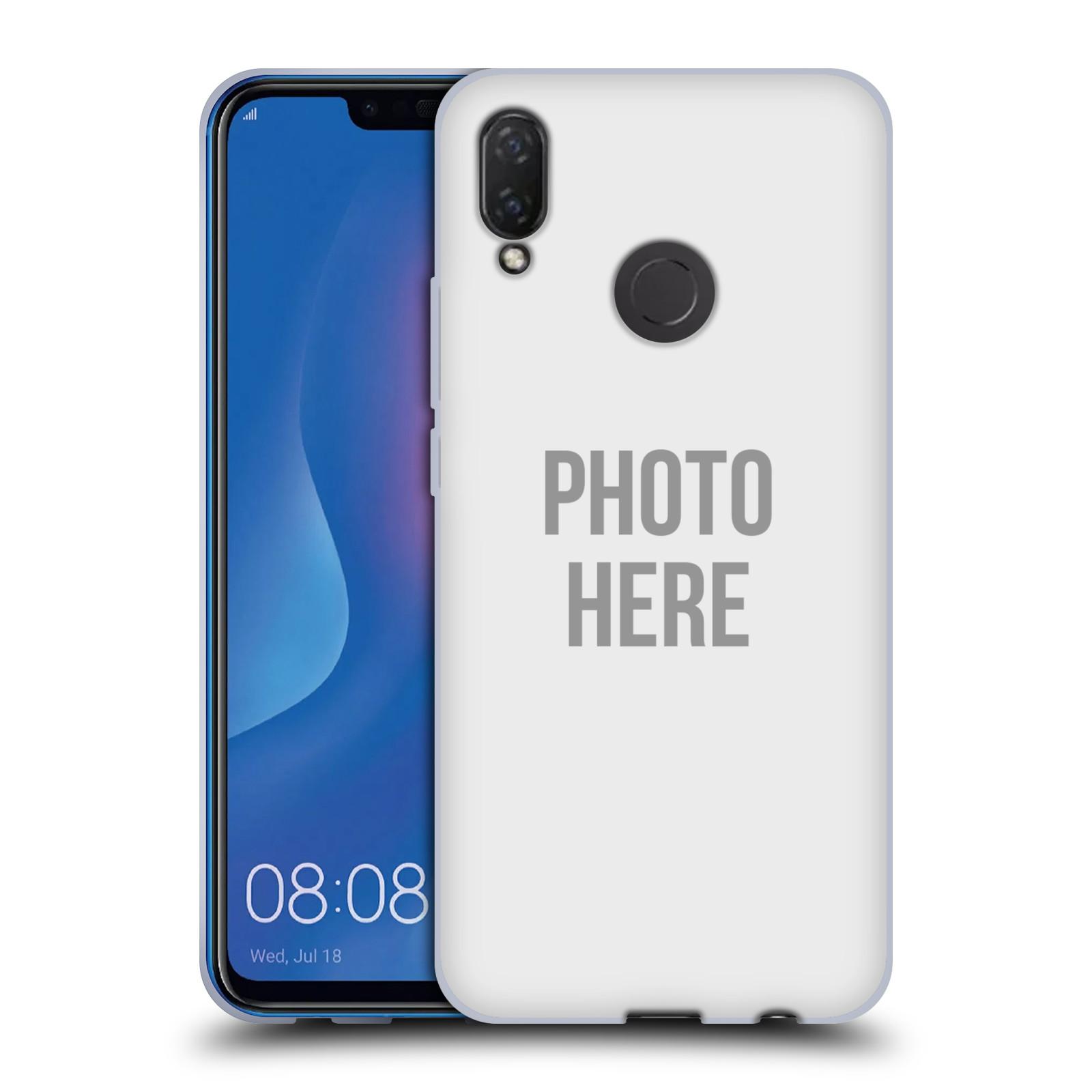 Silikonové pouzdro na mobil Huawei Nova 3i - Head Case - s vlastním motivem