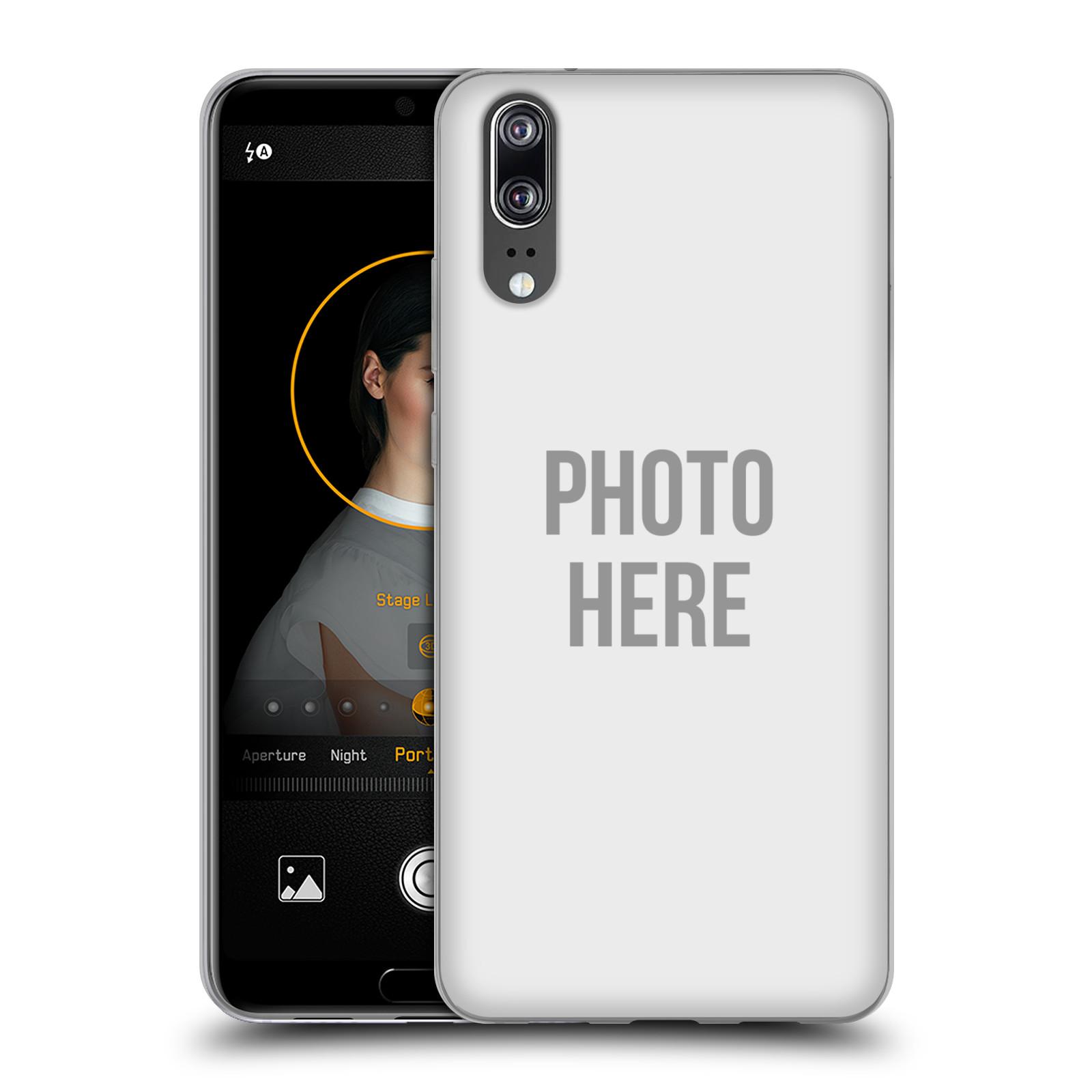 Silikonové pouzdro na mobil Huawei P20 - Head Case - s vlastním motivem