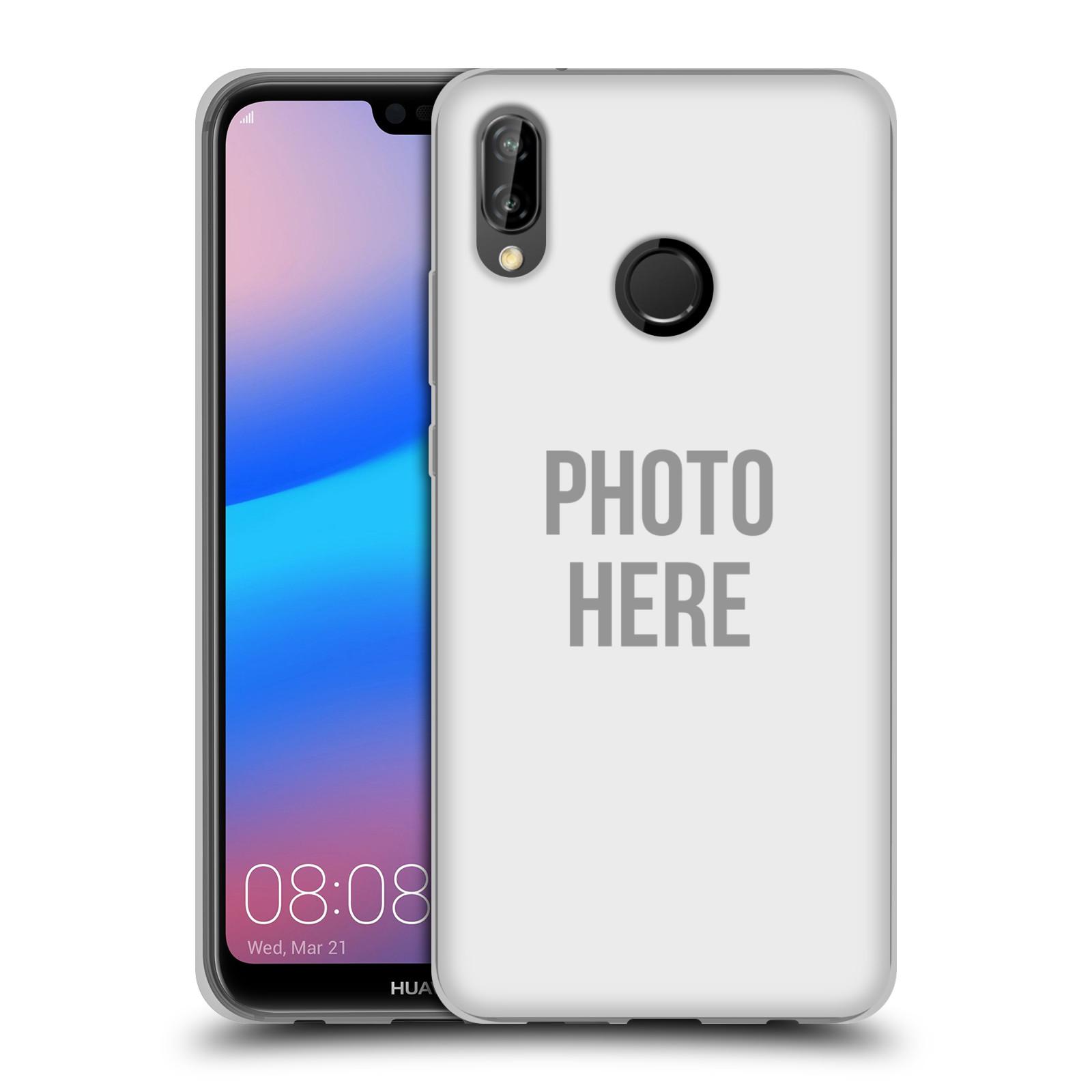 Silikonové pouzdro na mobil Huawei P20 Lite - Head Case - s vlastním motivem