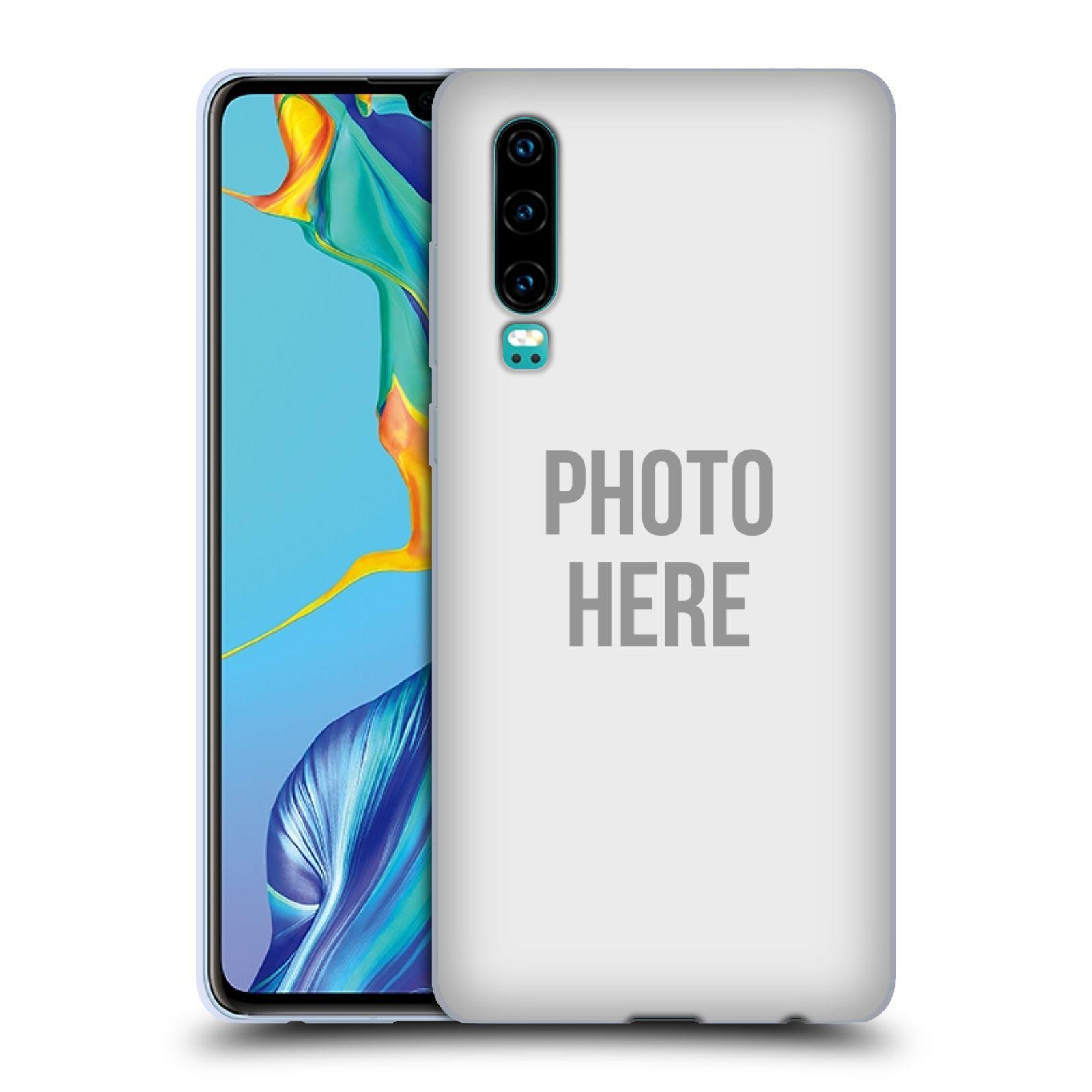 Silikonové pouzdro na mobil Huawei P30 - Head Case - s vlastním motivem