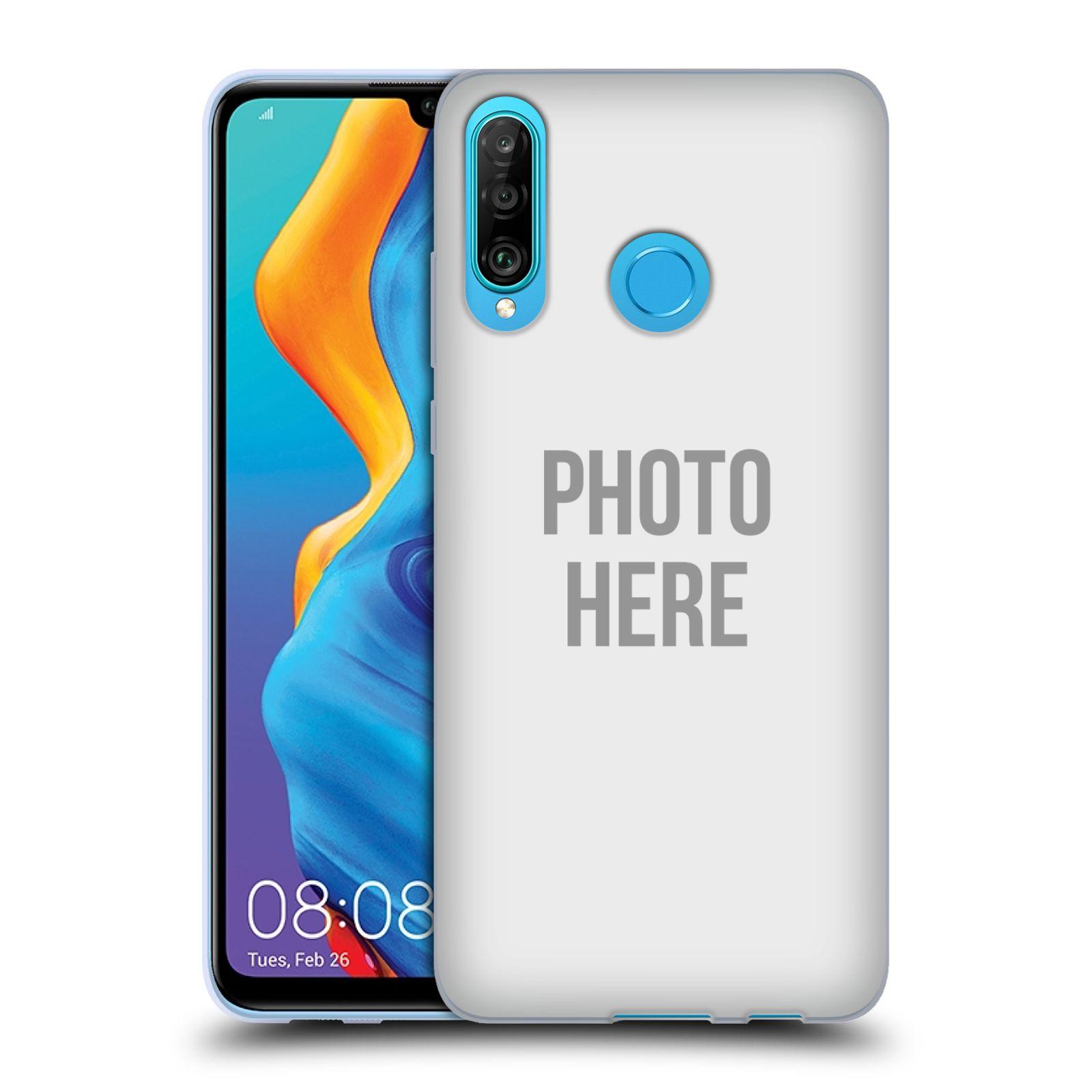Silikonové pouzdro na mobil Huawei P30 Lite - Head Case - s vlastním motivem