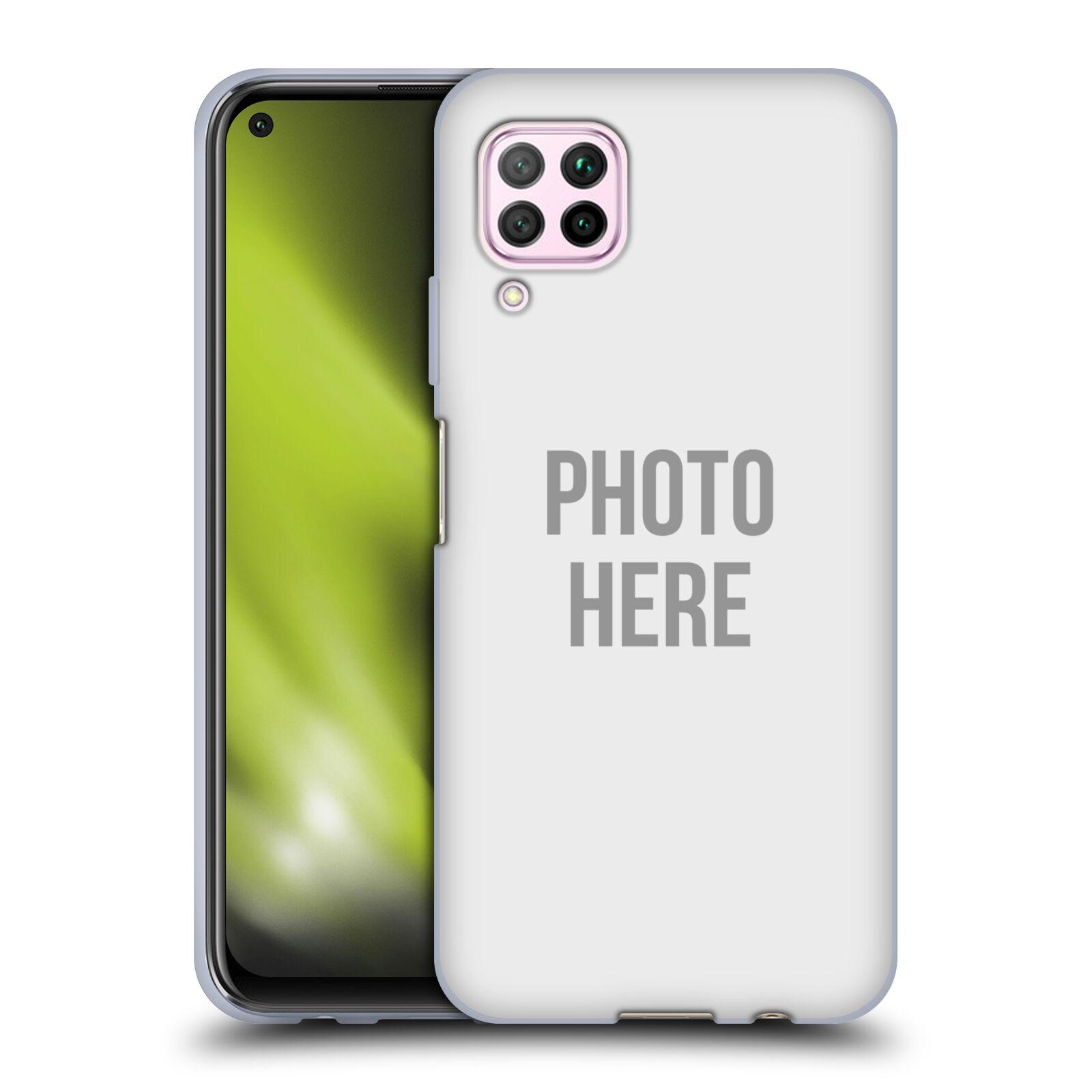 Silikonové pouzdro na mobil Huawei P40 Lite s vlastním motivem