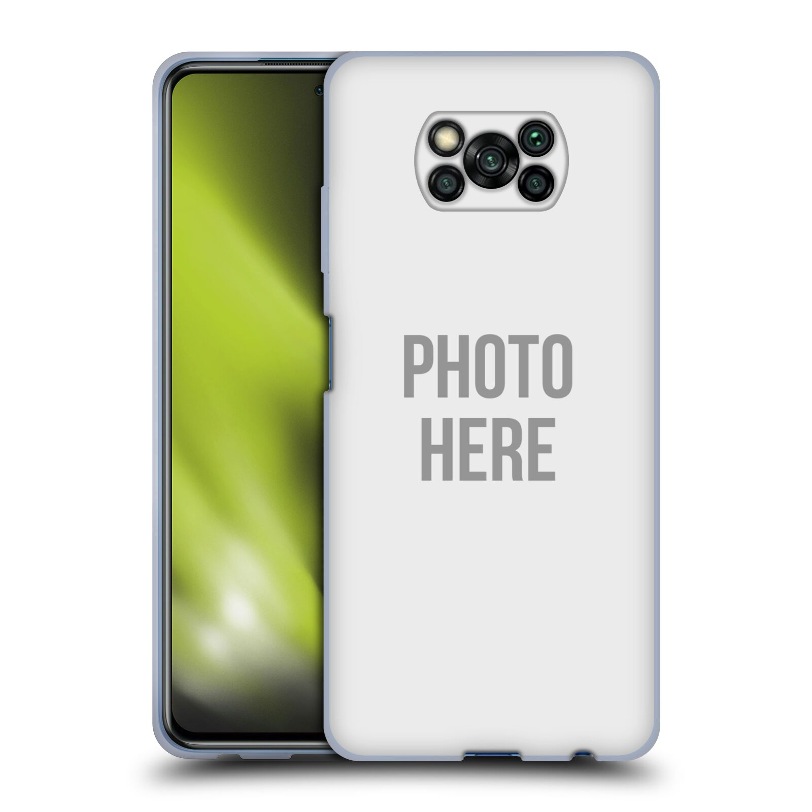 Silikonové pouzdro na mobil Xiaomi Poco X3 NFC s vlastním motivem