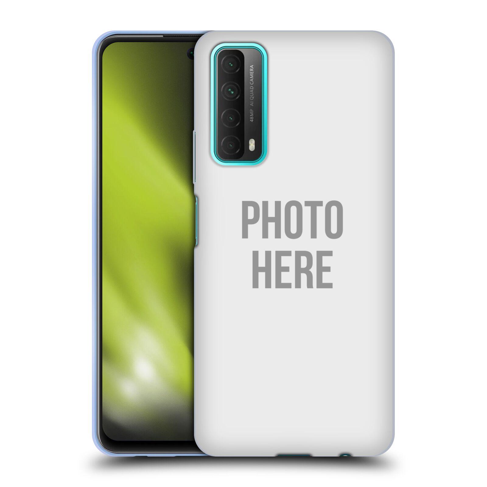 Silikonové pouzdro na mobil Huawei P Smart (2021) s vlastním motivem