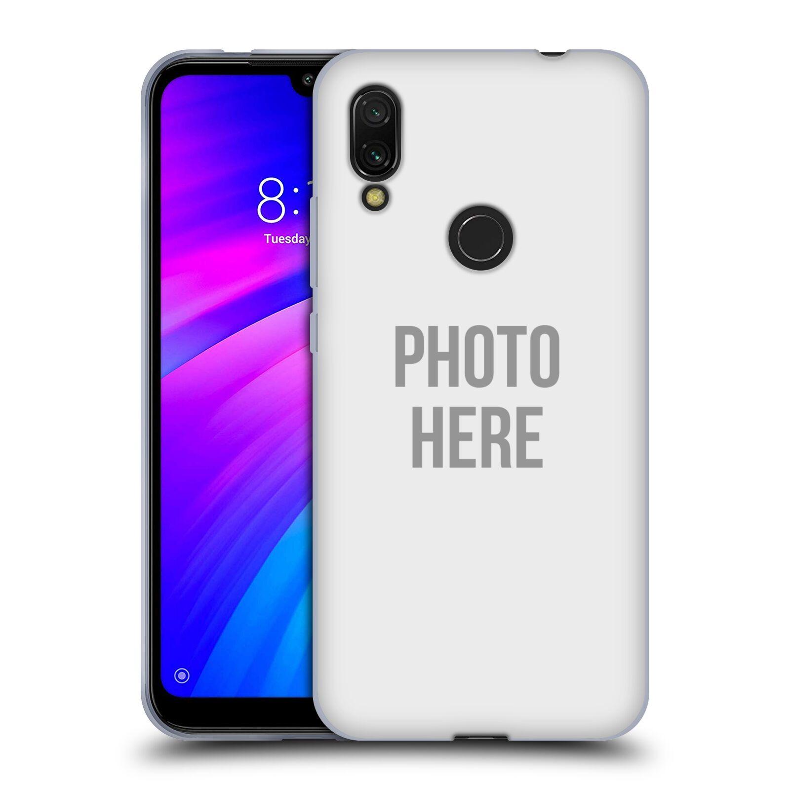 Silikonové pouzdro na mobil Xiaomi Redmi 7 - Head Case - s vlastním motivem
