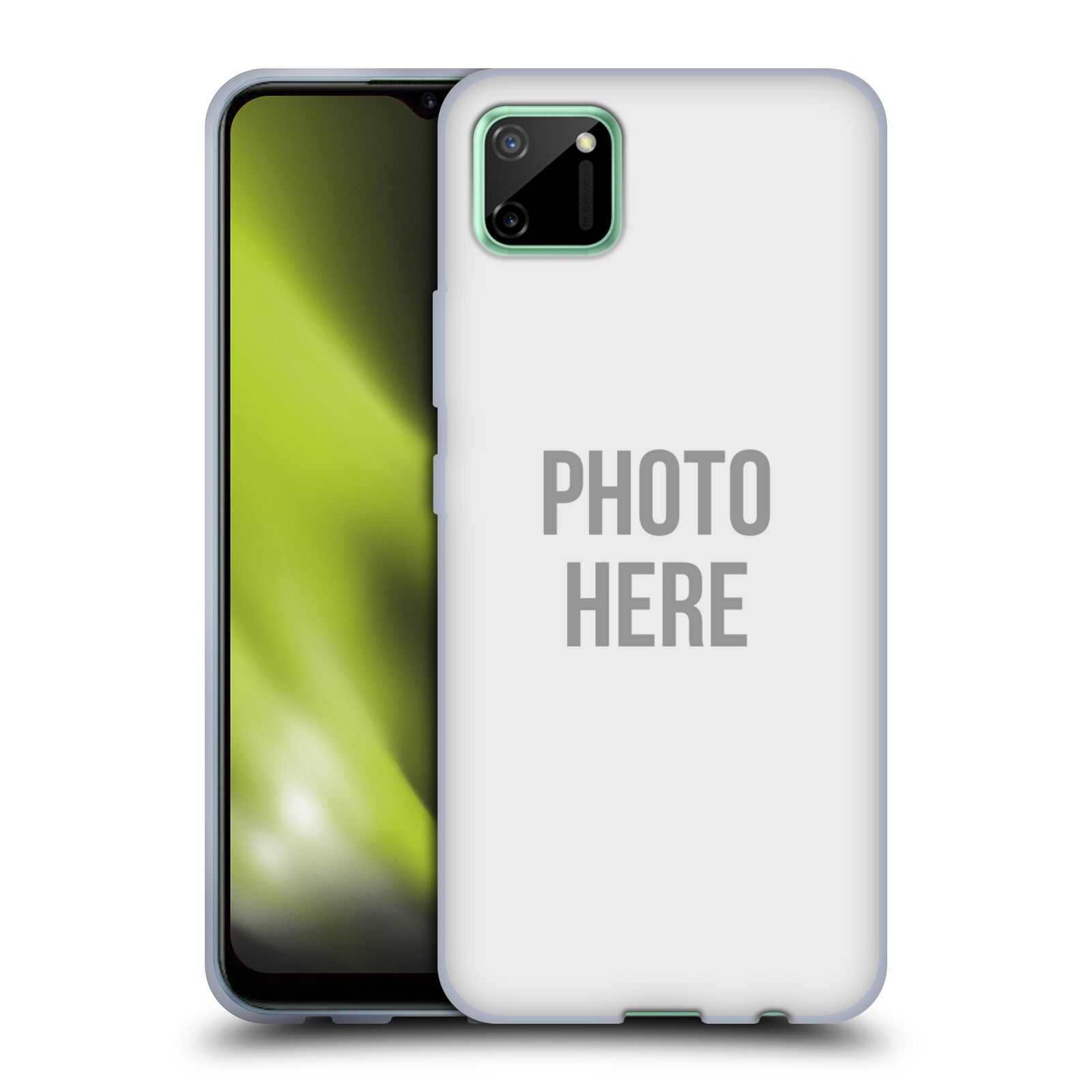 Silikonové pouzdro na mobil Realme C11 s vlastním motivem
