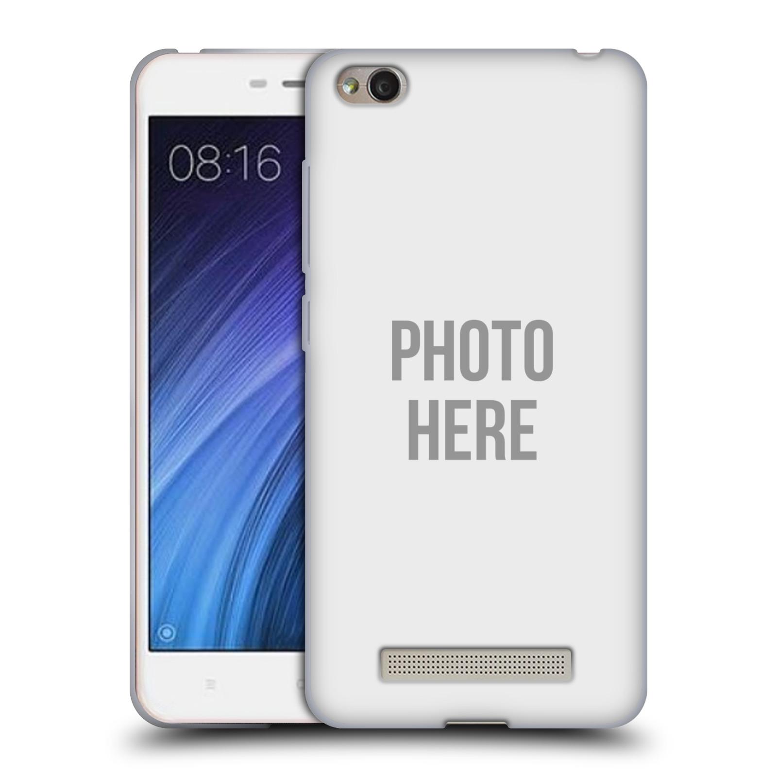 Silikonové pouzdro na mobil Xiaomi Redmi 4A - Head Case - s vlastním motivem