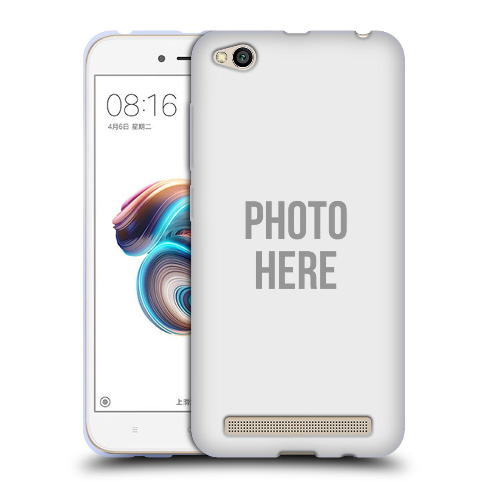 Silikonové pouzdro na mobil Xiaomi Redmi 5A - Head Case - s vlastním motivem
