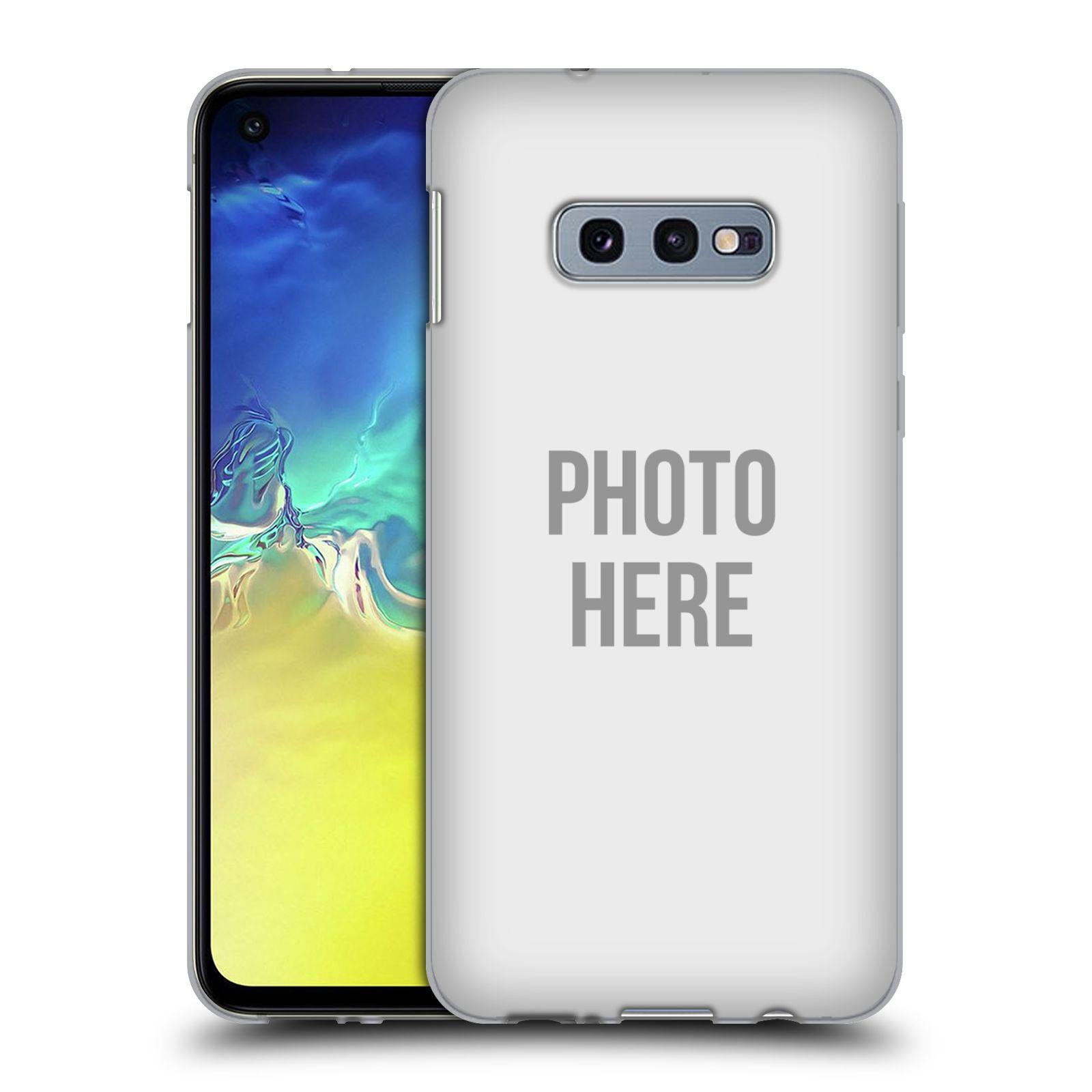 Silikonové pouzdro na mobil Samsung Galaxy S10e - Head Case - s vlastním motivem