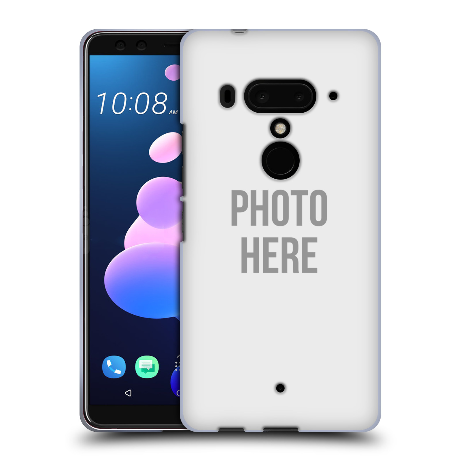 Silikonové pouzdro na mobil HTC U12 Plus - Head Case - s vlastním motivem