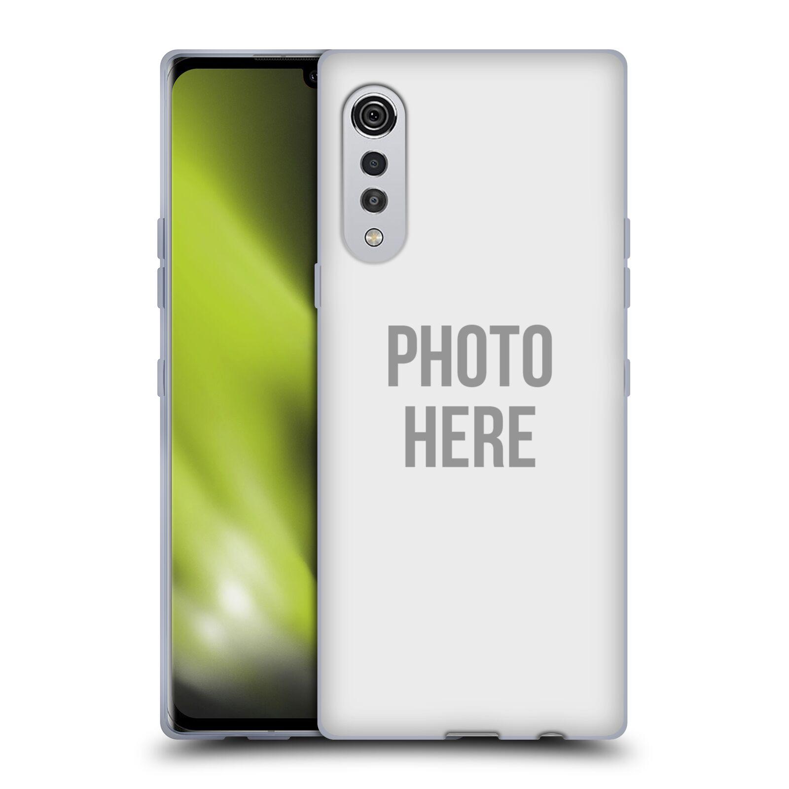 Silikonové pouzdro na mobil LG Velvet s vlastním motivem