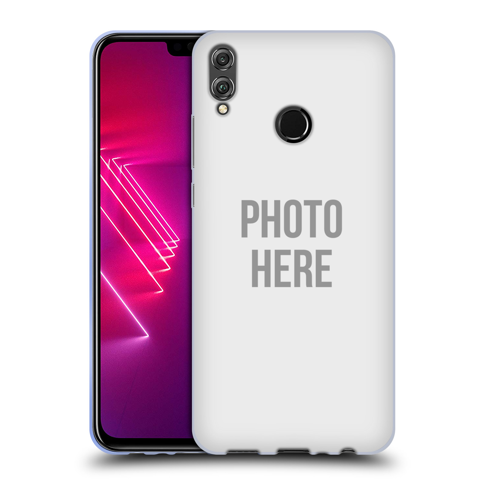 Silikonové pouzdro na mobil Honor 8X - Head Case - s vlastním motivem