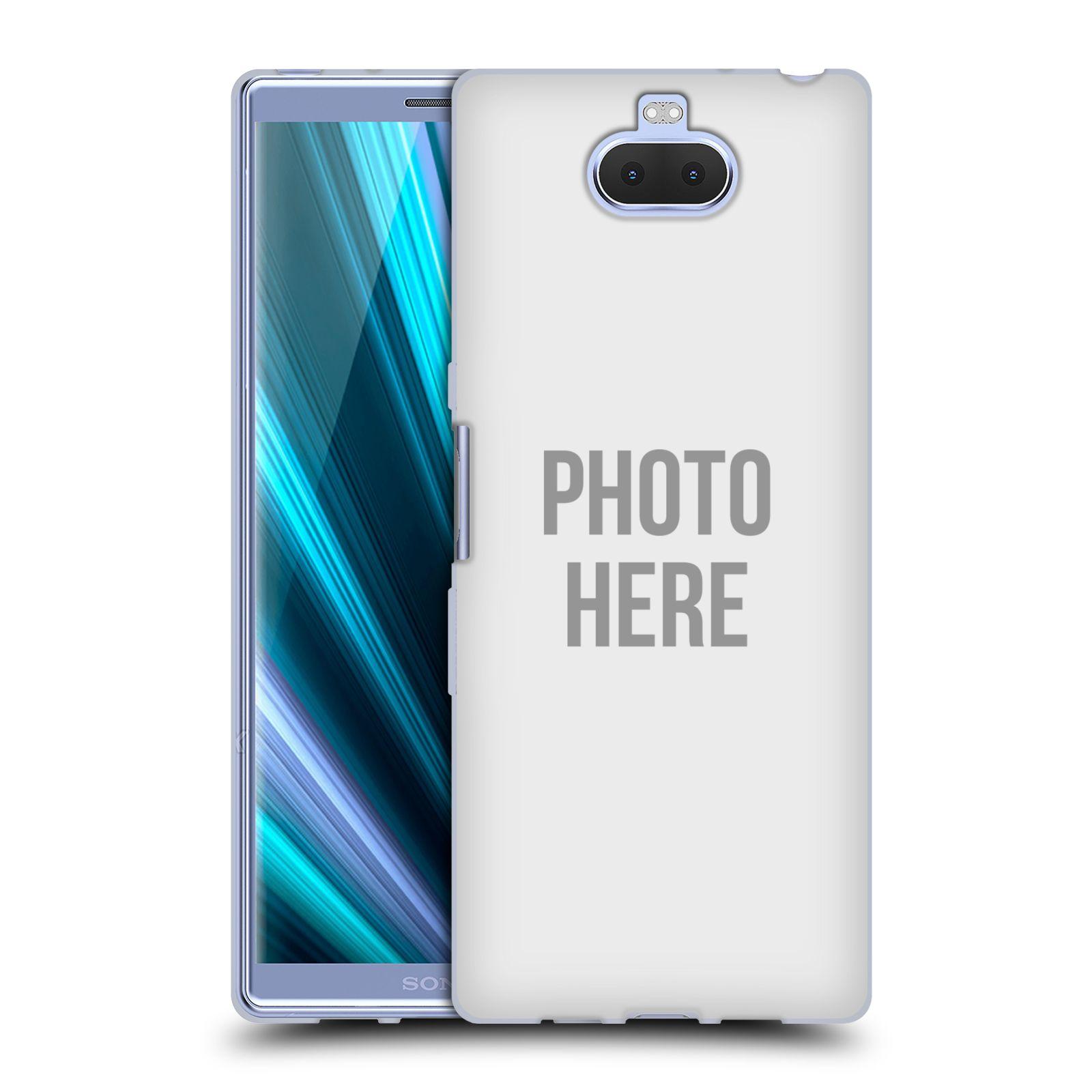 Silikonové pouzdro na mobil Sony Xperia 10 Plus - Head Case - s vlastním motivem