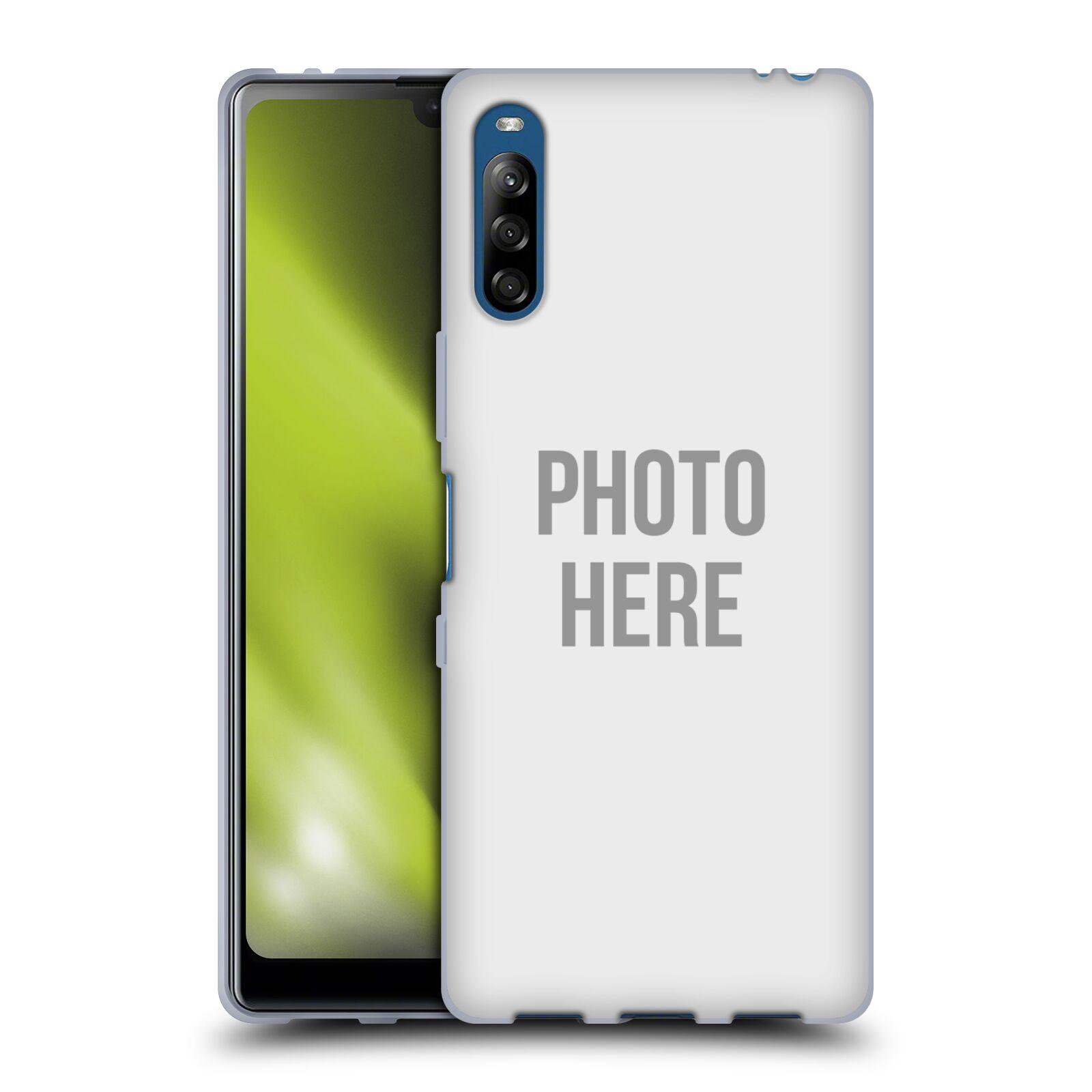 Silikonové pouzdro na mobil Sony Xperia L4 s vlastním motivem