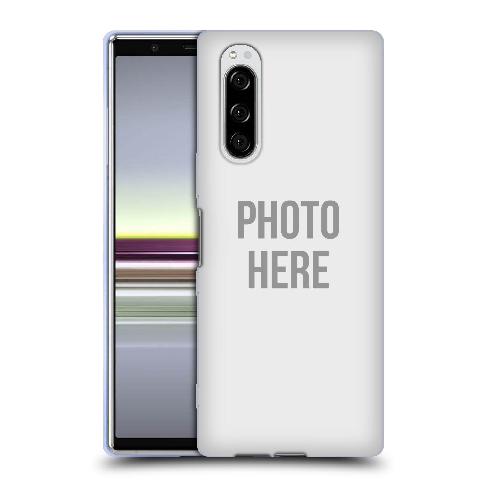 Silikonové pouzdro na mobil Sony Xperia 5 - Head Case - s vlastním motivem
