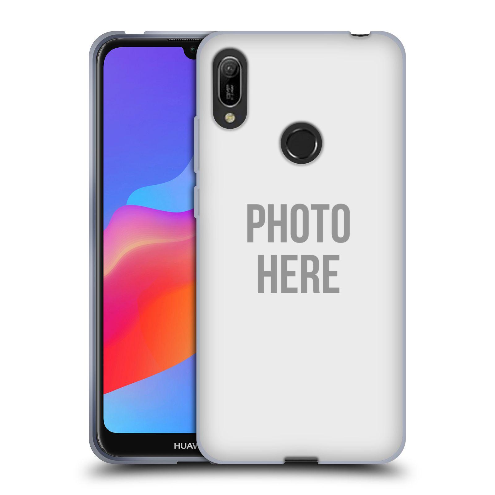 Silikonové pouzdro na mobil Huawei Y6 (2019) - Head Case - s vlastním motivem