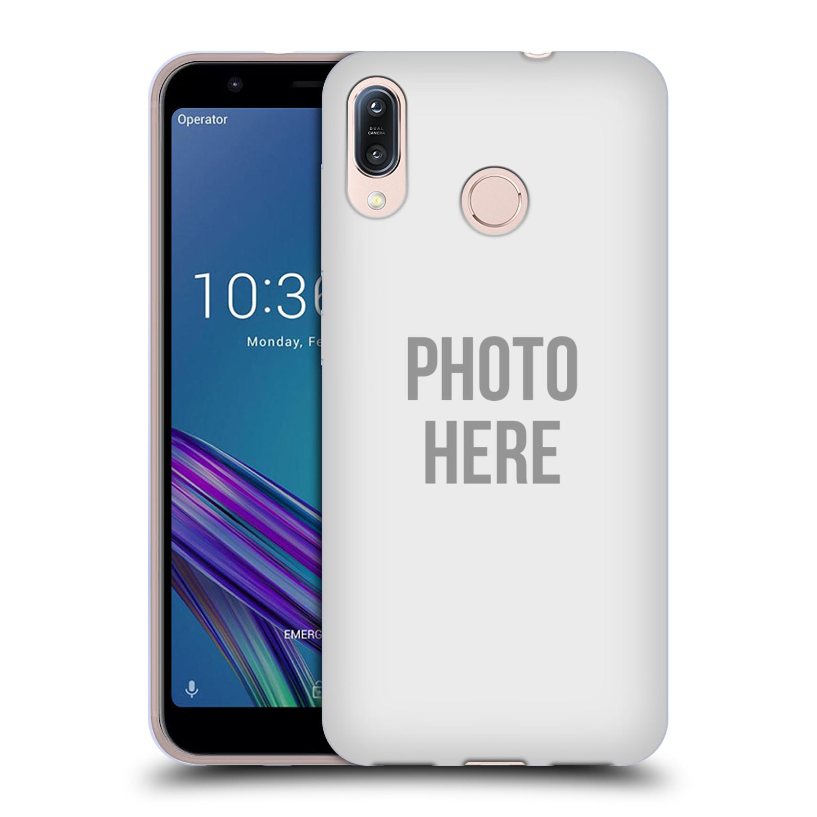 Silikonové pouzdro na mobil Asus Zenfone Max M1 ZB555KL - Head Case - s vlastním motivem