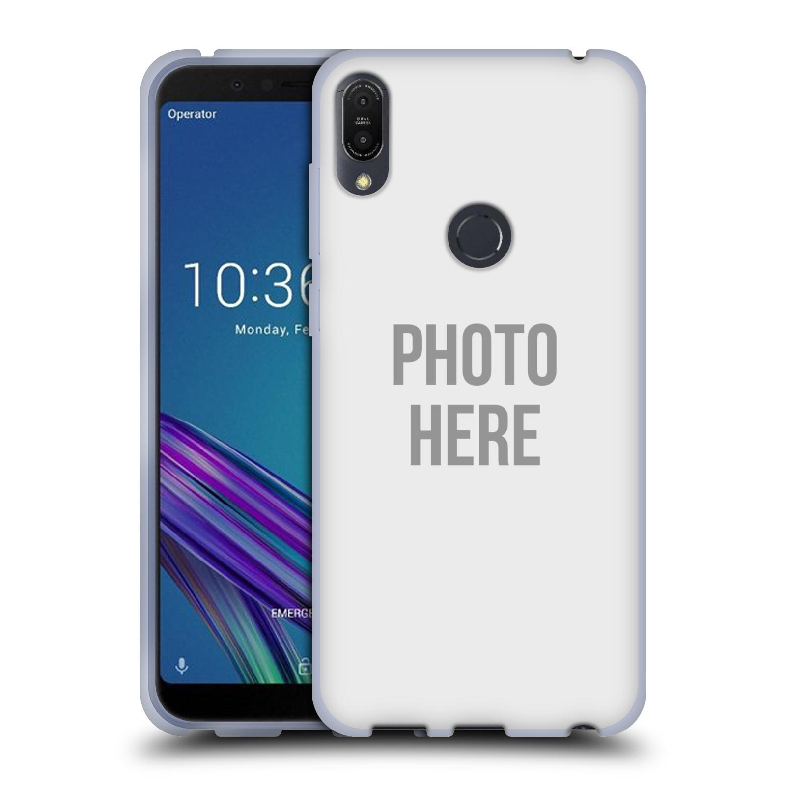 Silikonové pouzdro na mobil Asus ZenFone Max Pro (M1) - Head Case - s vlastním motivem