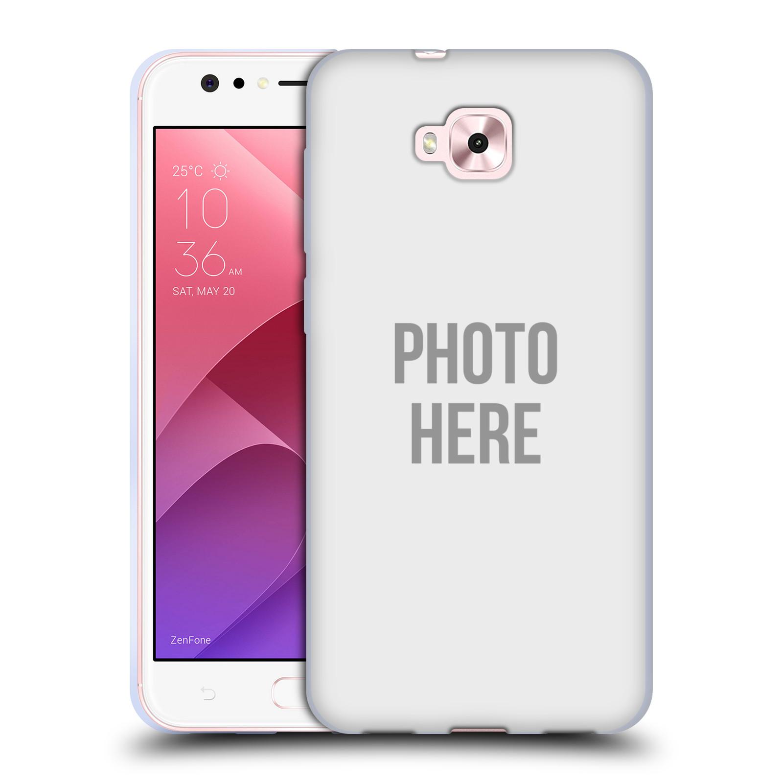 Silikonové pouzdro na mobil Asus Zenfone 4 Selfie ZD553KL - Head Case - s vlastním motivem