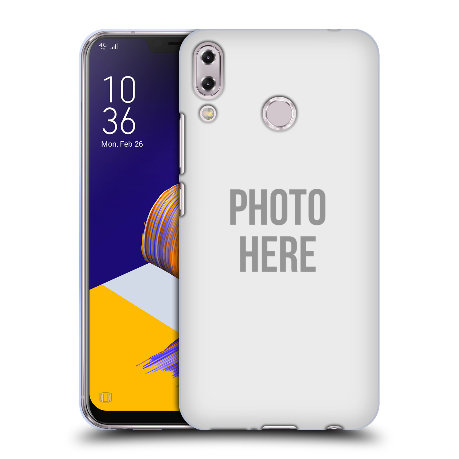 Silikonové pouzdro na mobil Asus Zenfone 5z ZS620KL - Head Case - s vlastním motivem