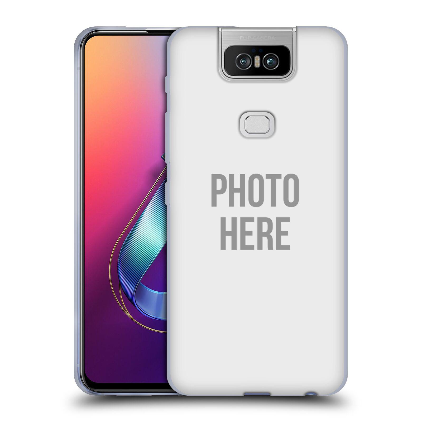 Silikonové pouzdro na mobil Asus Zenfone 6 ZS630KL - Head Case - s vlastním motivem