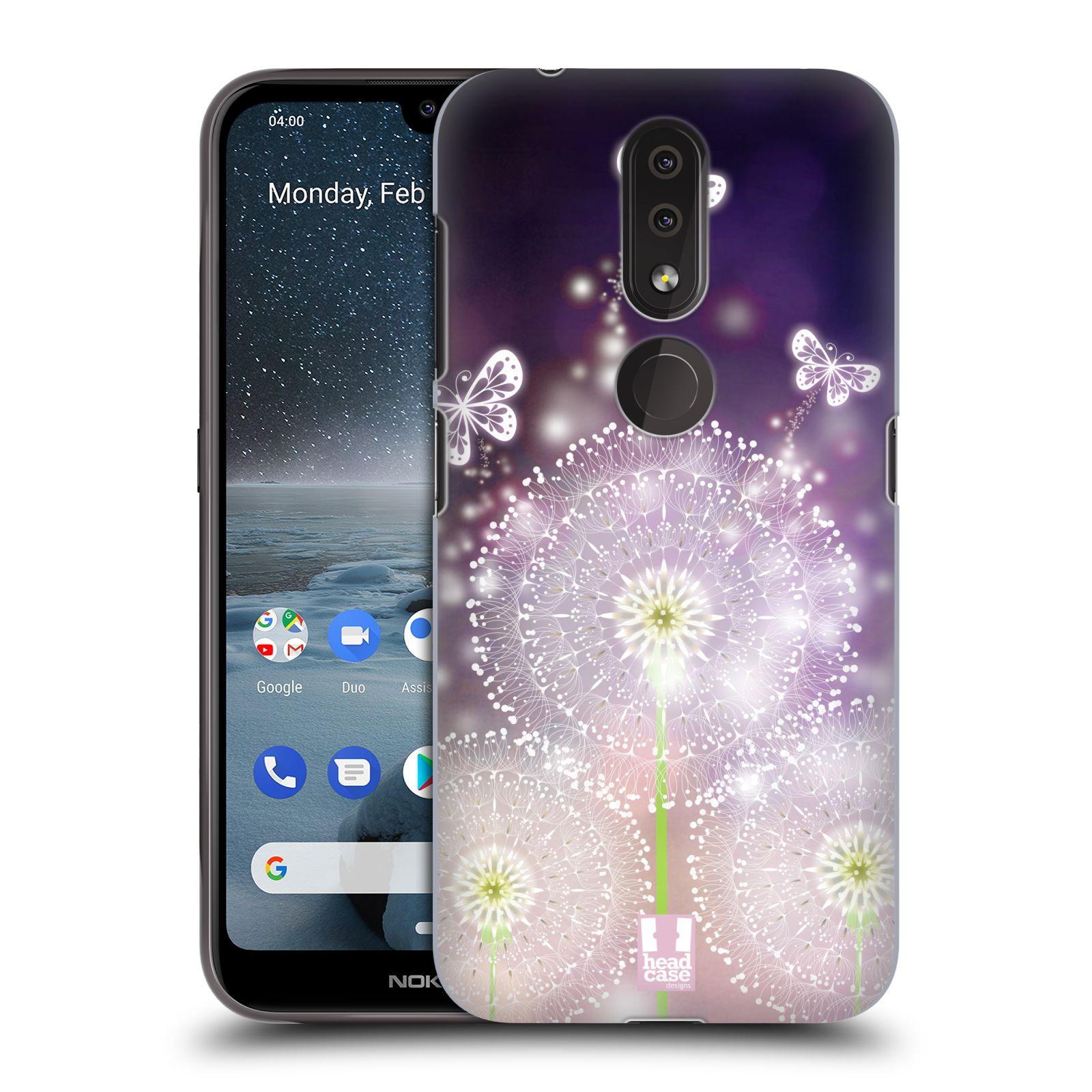 Plastové pouzdro na mobil Nokia 4.2 - Head Case - Pampelišky a Motýlci
