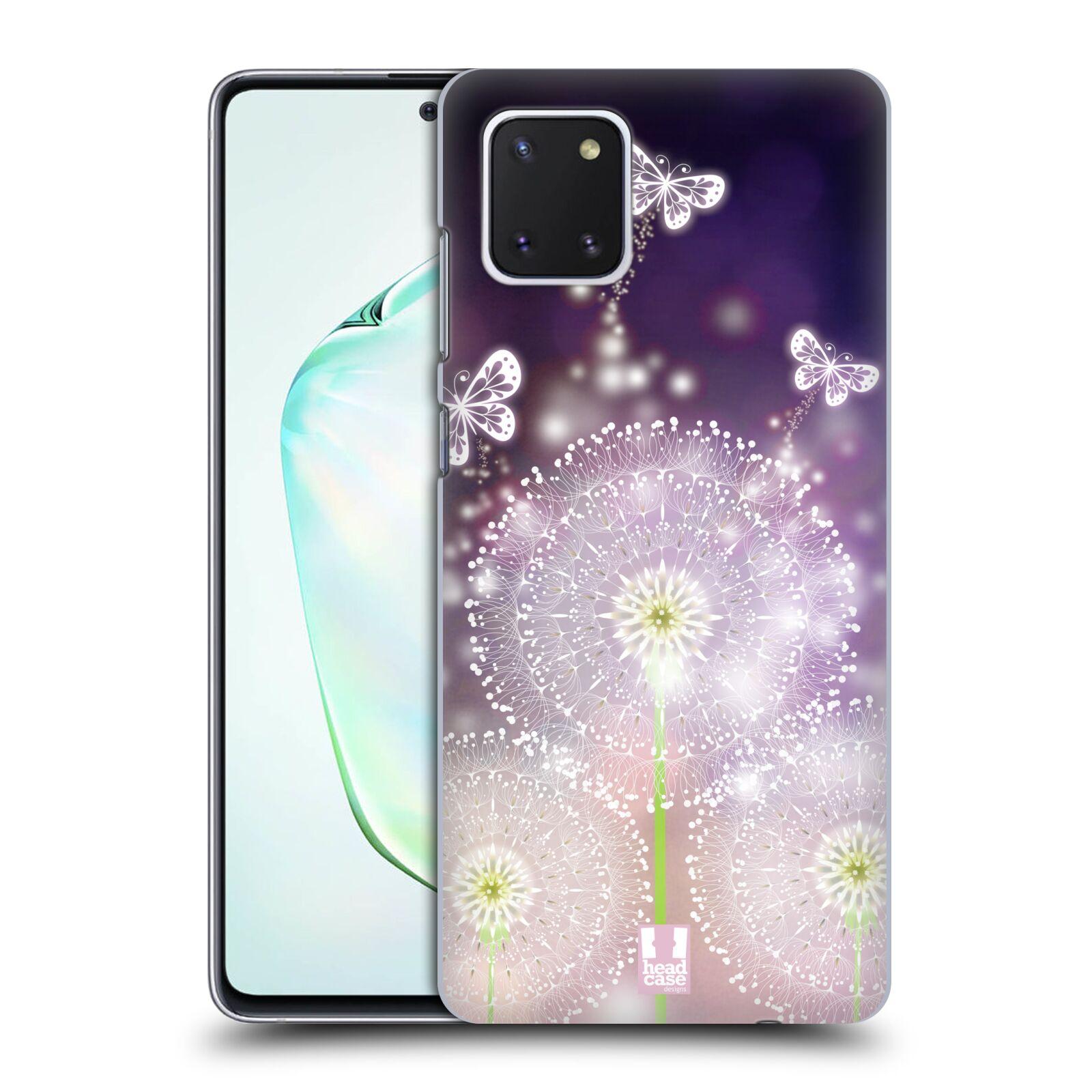 Plastové pouzdro na mobil Samsung Galaxy Note 10 Lite - Head Case - Pampelišky a Motýlci