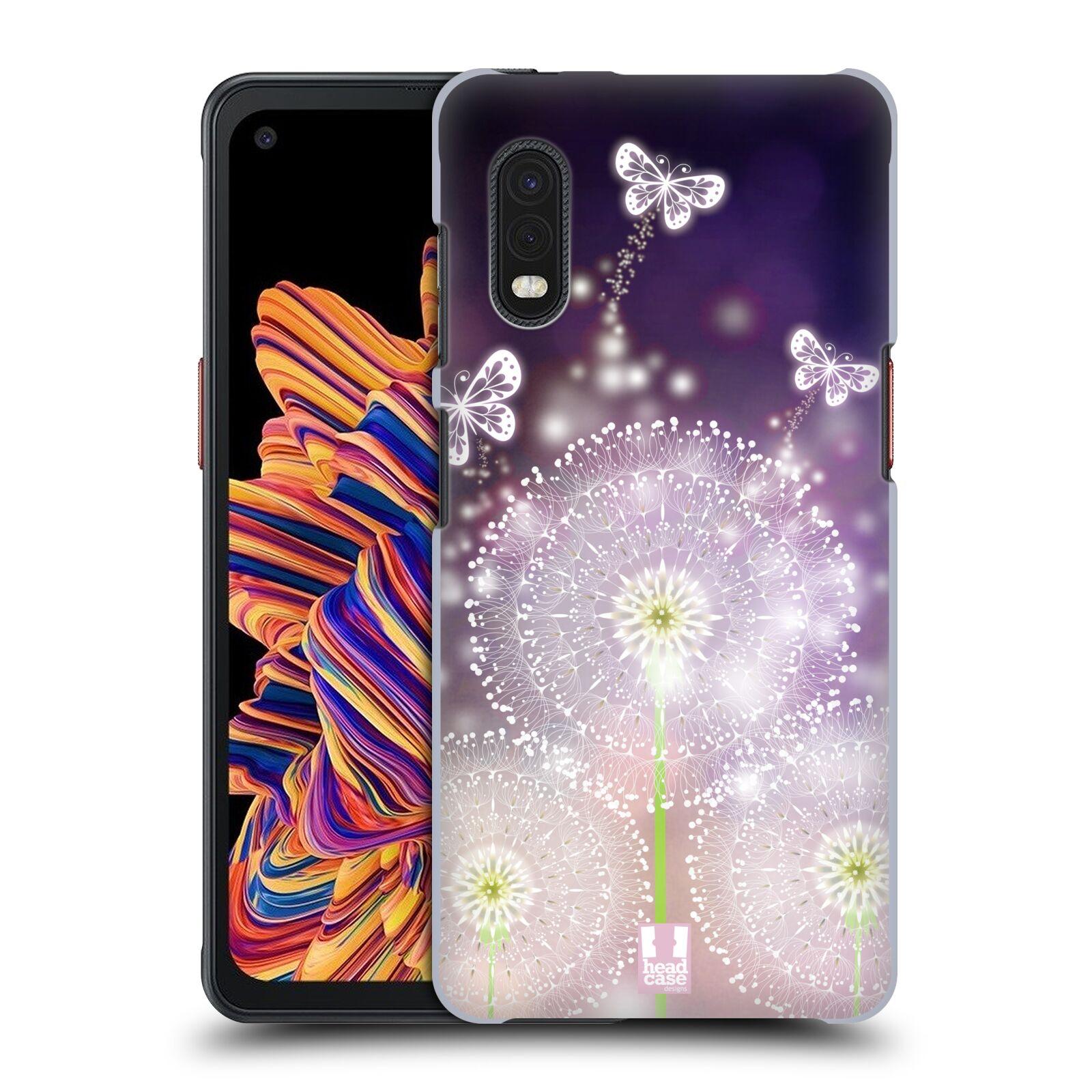 Plastové pouzdro na mobil Samsung Galaxy Xcover Pro - Head Case - Pampelišky a Motýlci