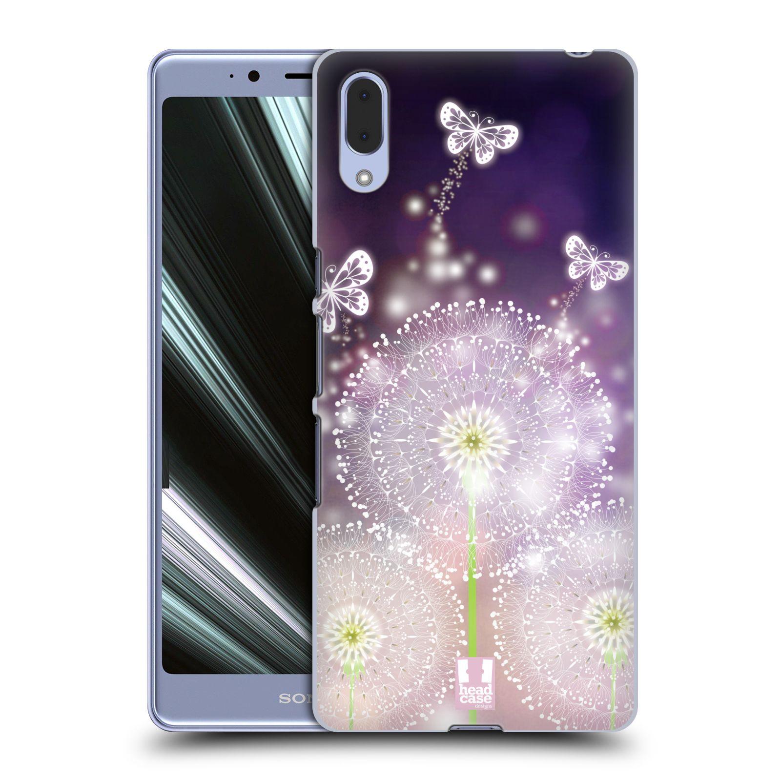 Plastové pouzdro na mobil Sony Xperia L3 - Head Case - Pampelišky a Motýlci