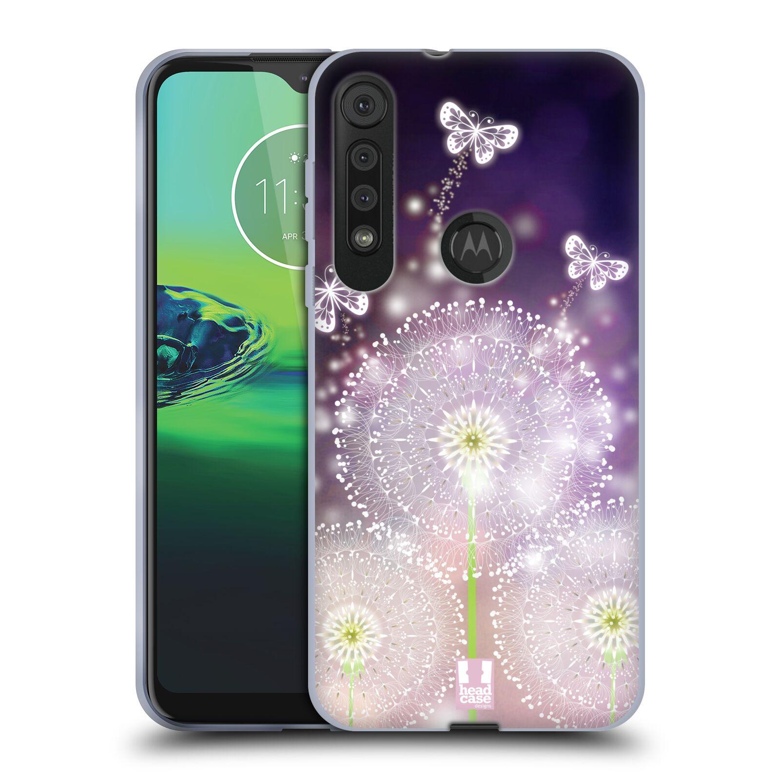 Silikonové pouzdro na mobil Motorola One Macro - Head Case - Pampelišky a Motýlci