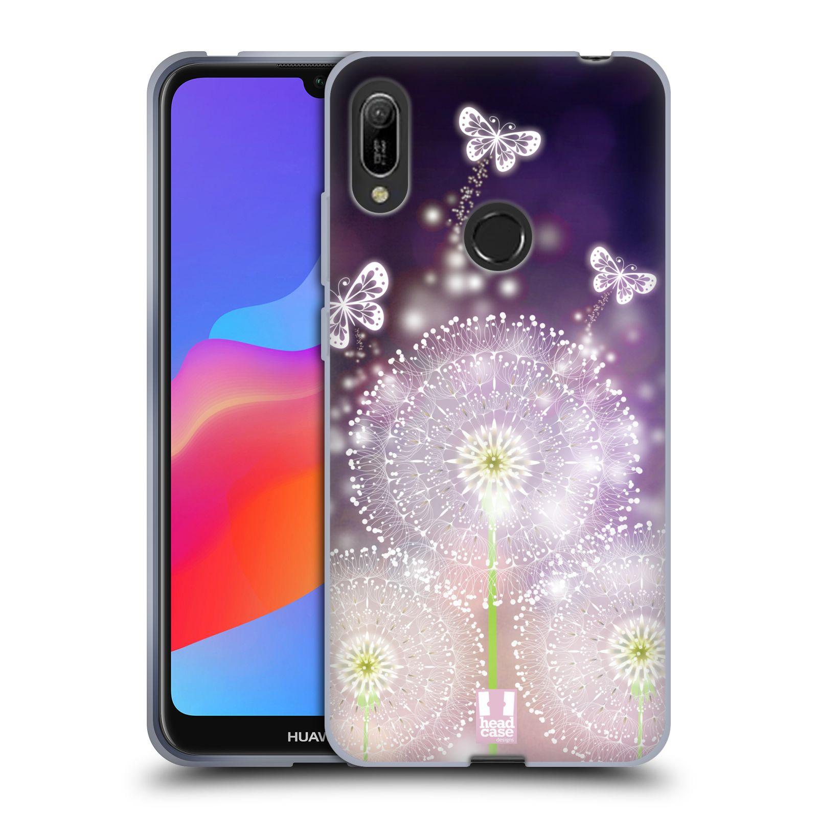 Silikonové pouzdro na mobil Huawei Y6 (2019) - Head Case - Pampelišky a Motýlci
