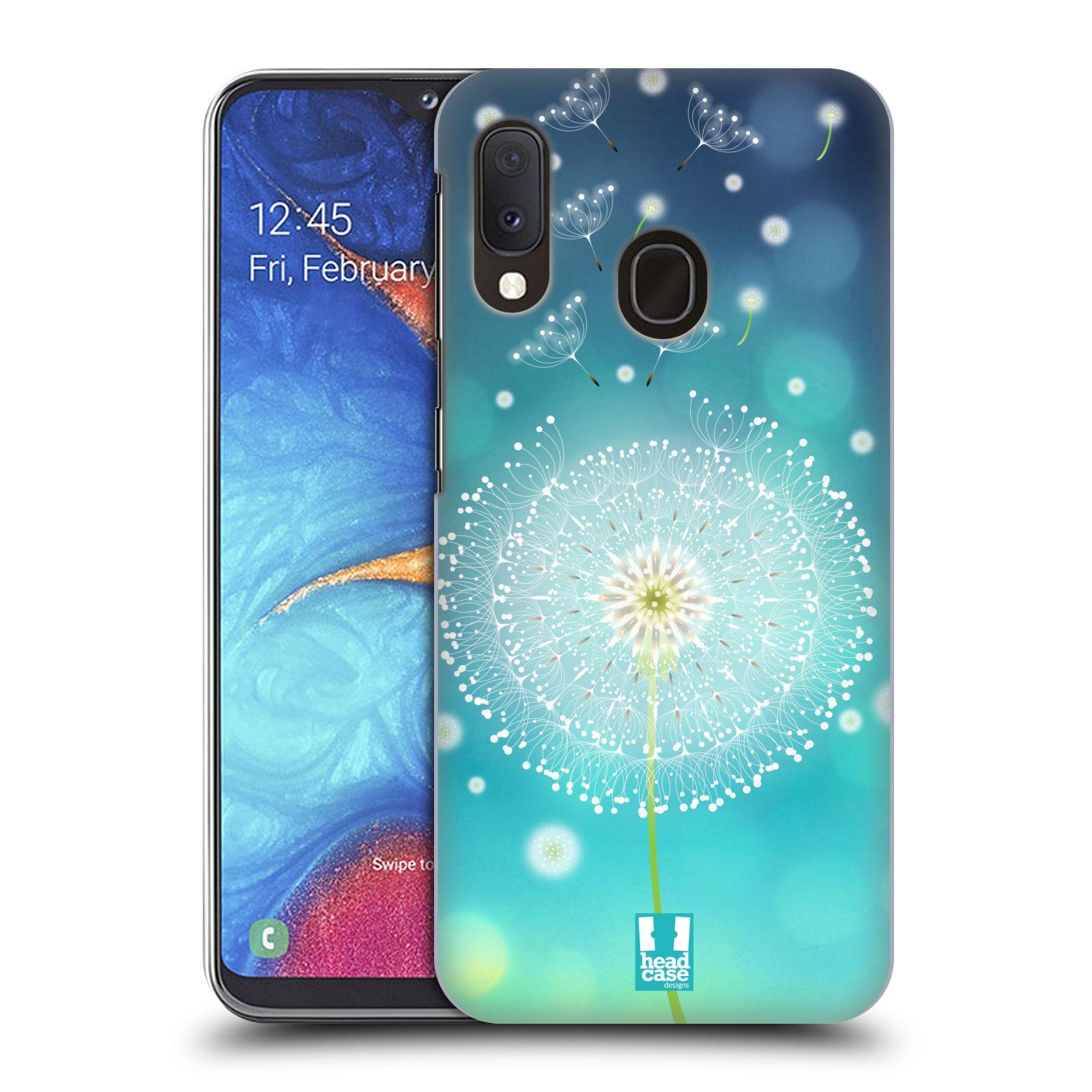 Plastové pouzdro na mobil Samsung Galaxy A20e - Head Case - Rozlétaná pampeliška