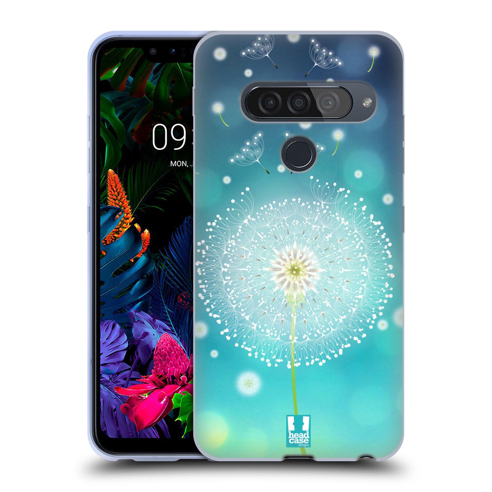 Silikonové pouzdro na mobil LG G8s ThinQ - Head Case - Rozlétaná pampeliška