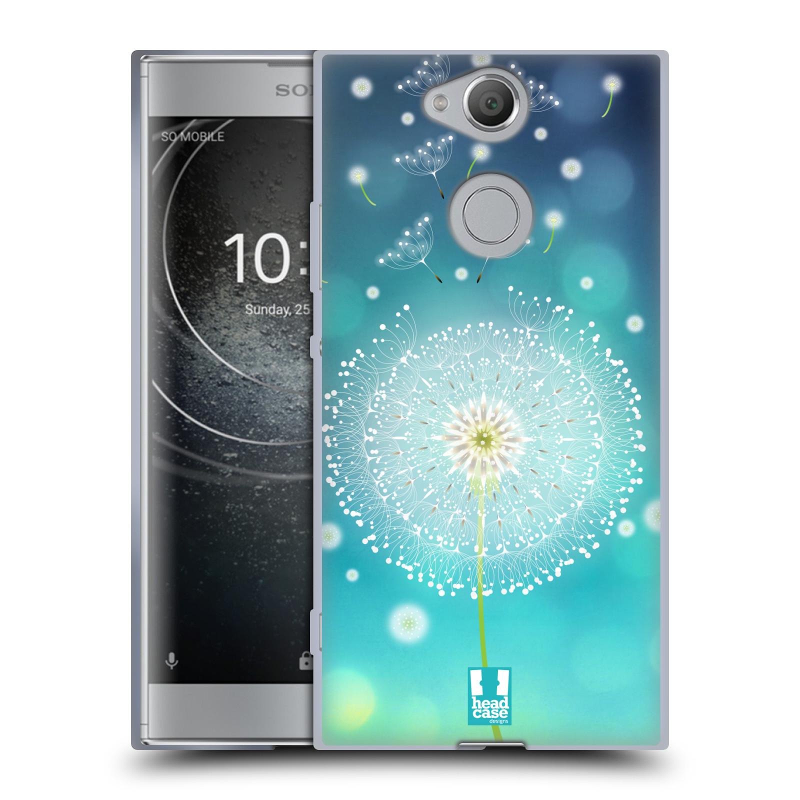 Silikonové pouzdro na mobil Sony Xperia XA2 - Head Case - Rozlétaná pampeliška