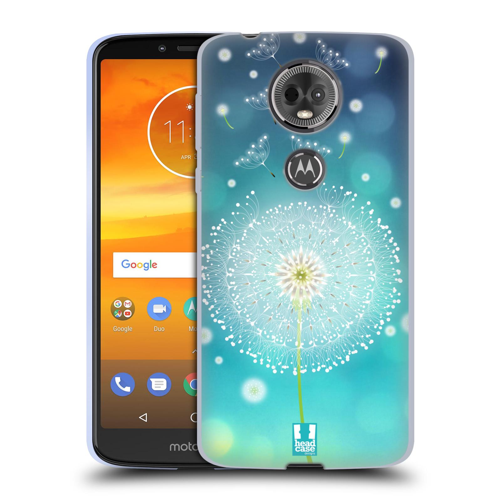 Silikonové pouzdro na mobil Motorola Moto E5 Plus - Head Case - Rozlétaná pampeliška