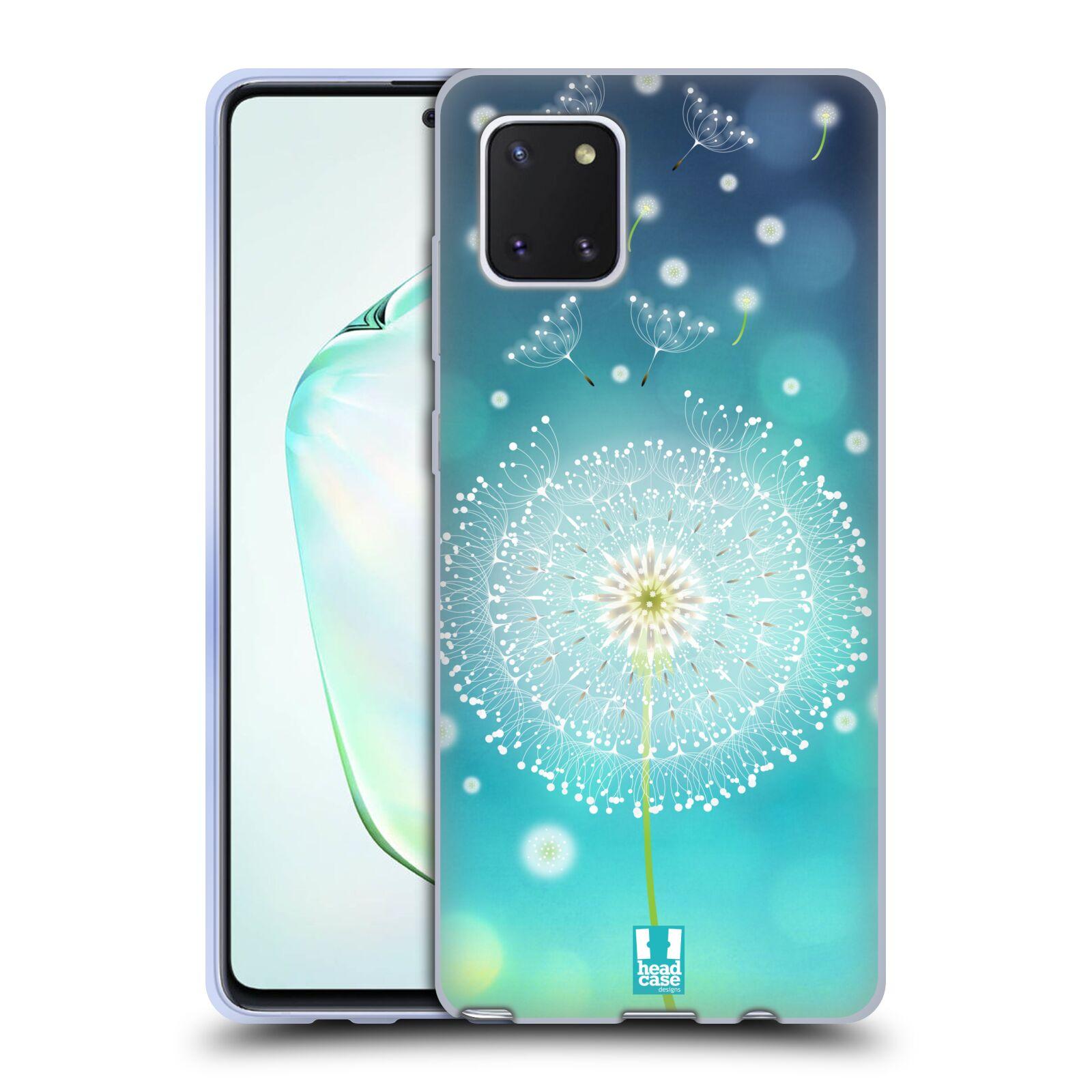 Silikonové pouzdro na mobil Samsung Galaxy Note 10 Lite - Head Case - Rozlétaná pampeliška