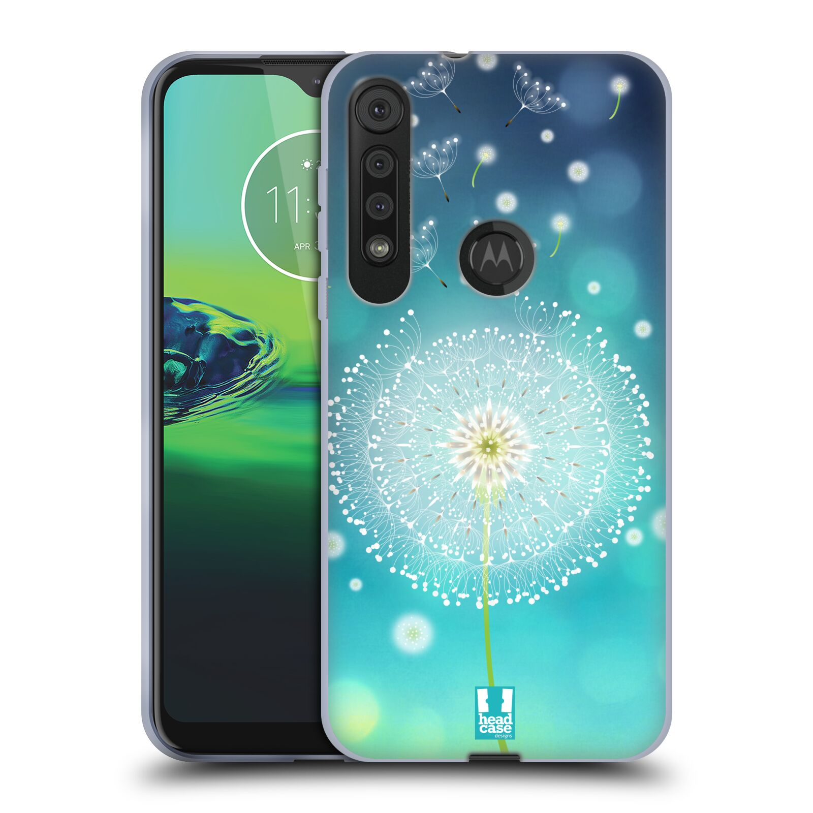 Silikonové pouzdro na mobil Motorola One Macro - Head Case - Rozlétaná pampeliška