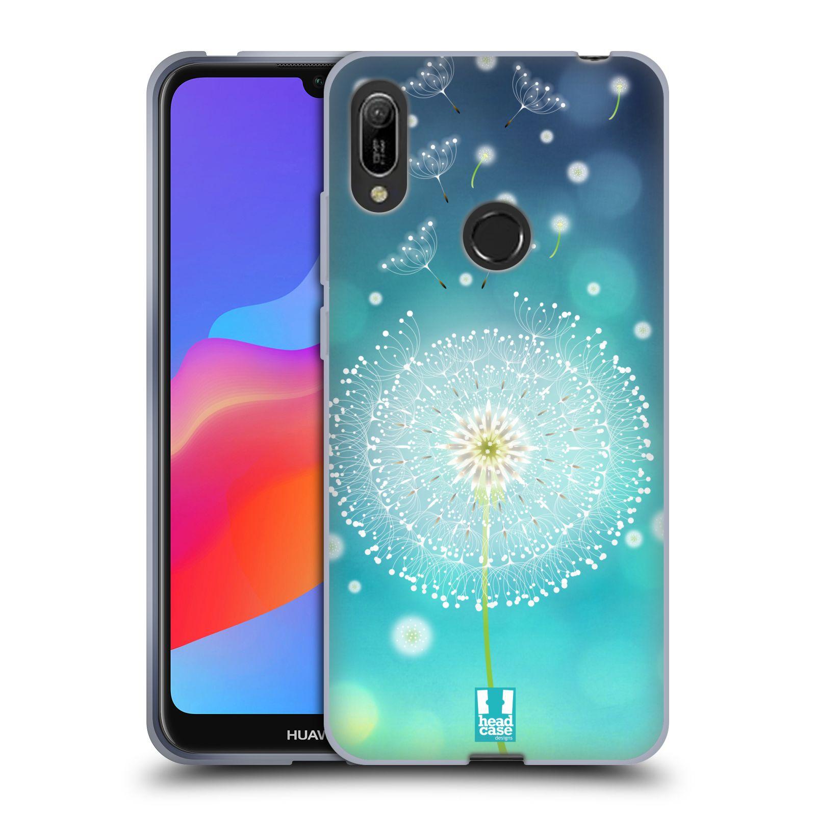Silikonové pouzdro na mobil Huawei Y6 (2019) - Head Case - Rozlétaná pampeliška
