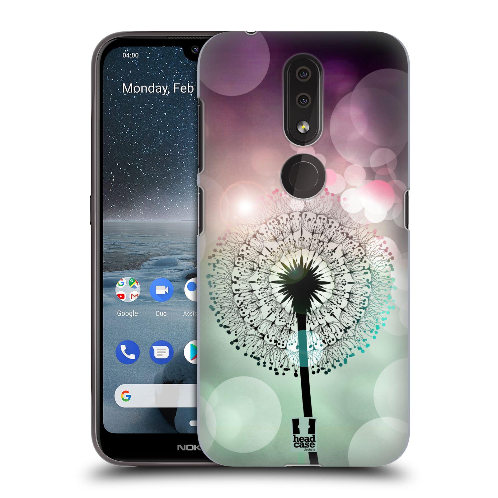 Plastové pouzdro na mobil Nokia 4.2 - Head Case - Pampeliškové odlesky