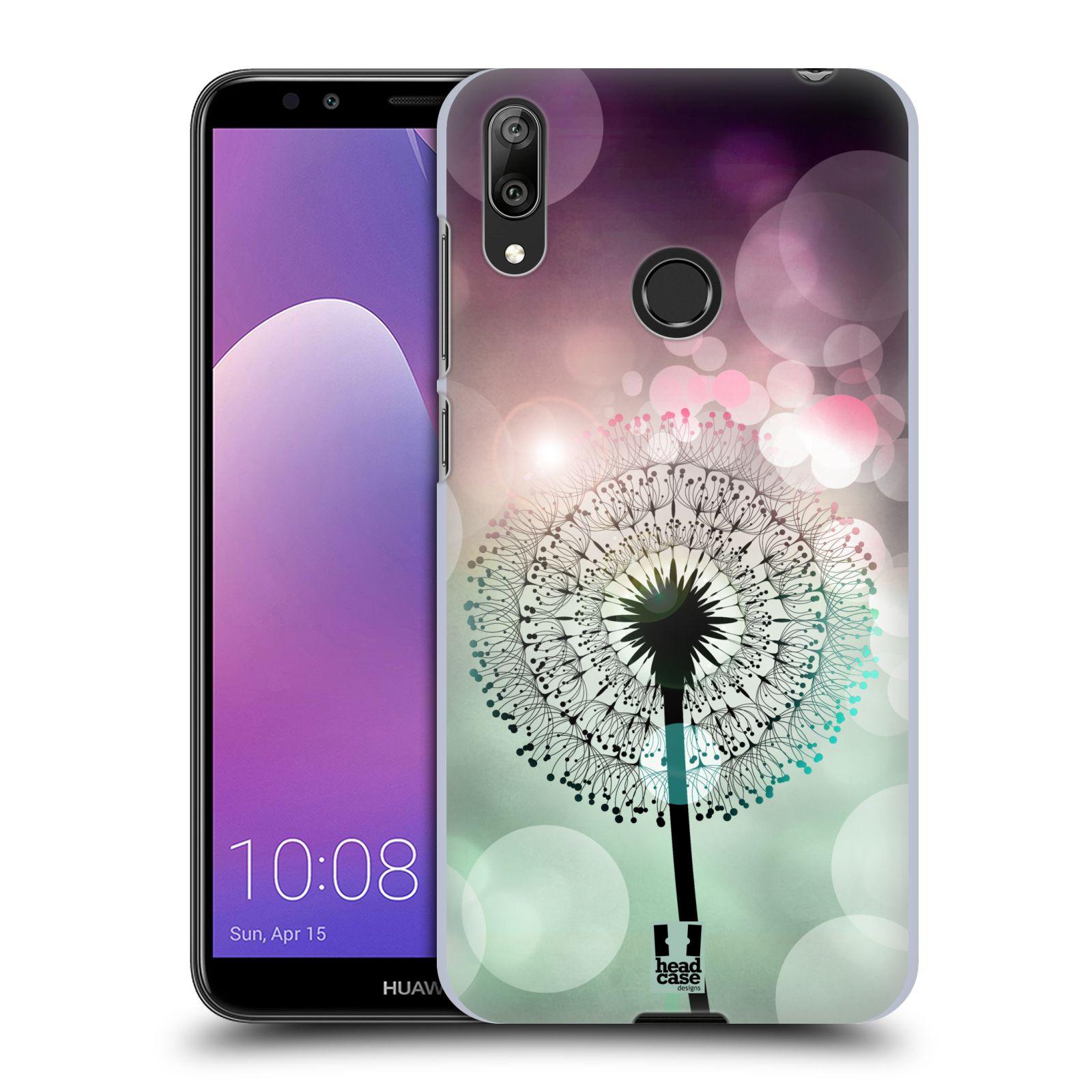 Plastové pouzdro na mobil Huawei Y7 (2019) - Head Case - Pampeliškové odlesky