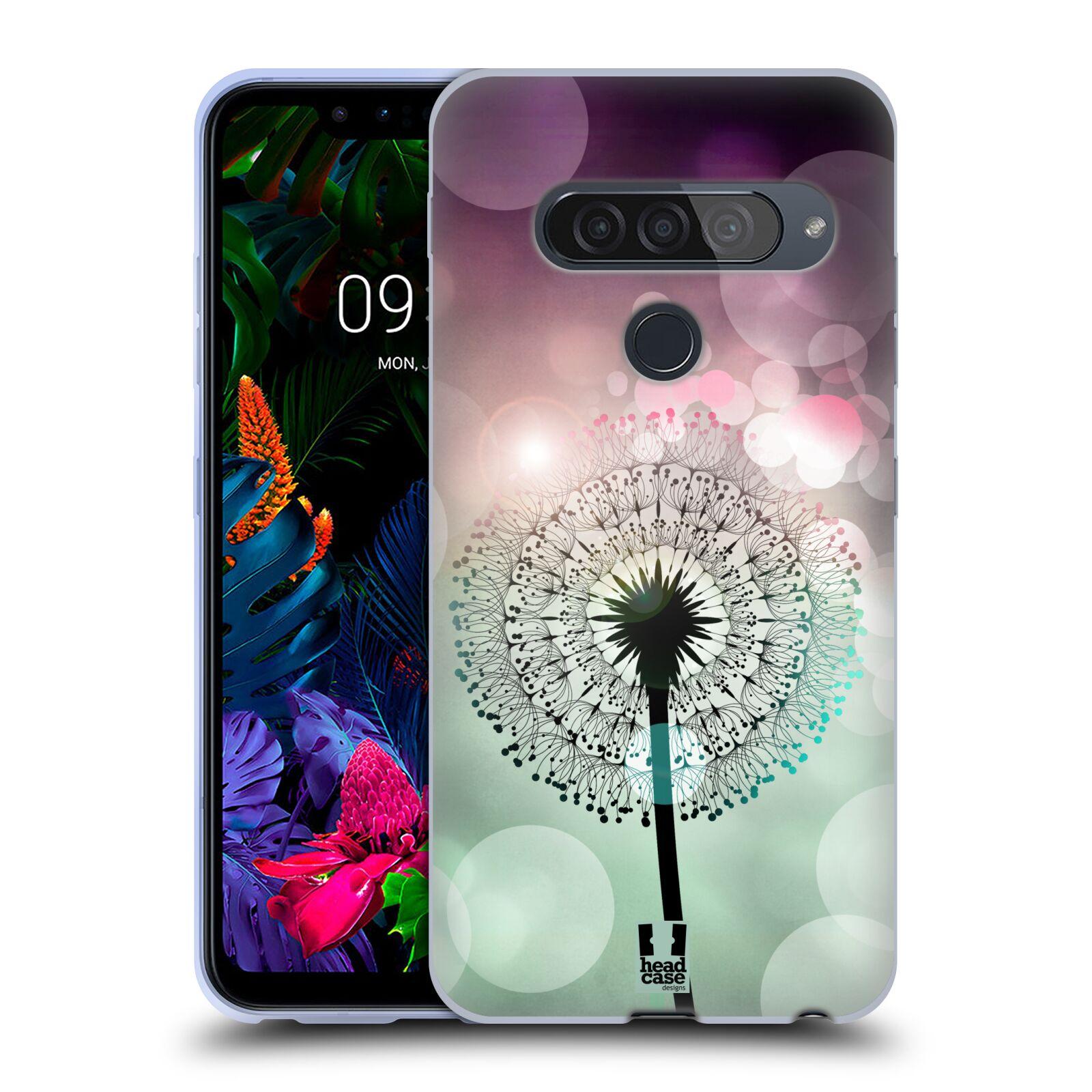 Silikonové pouzdro na mobil LG G8s ThinQ - Head Case - Pampeliškové odlesky