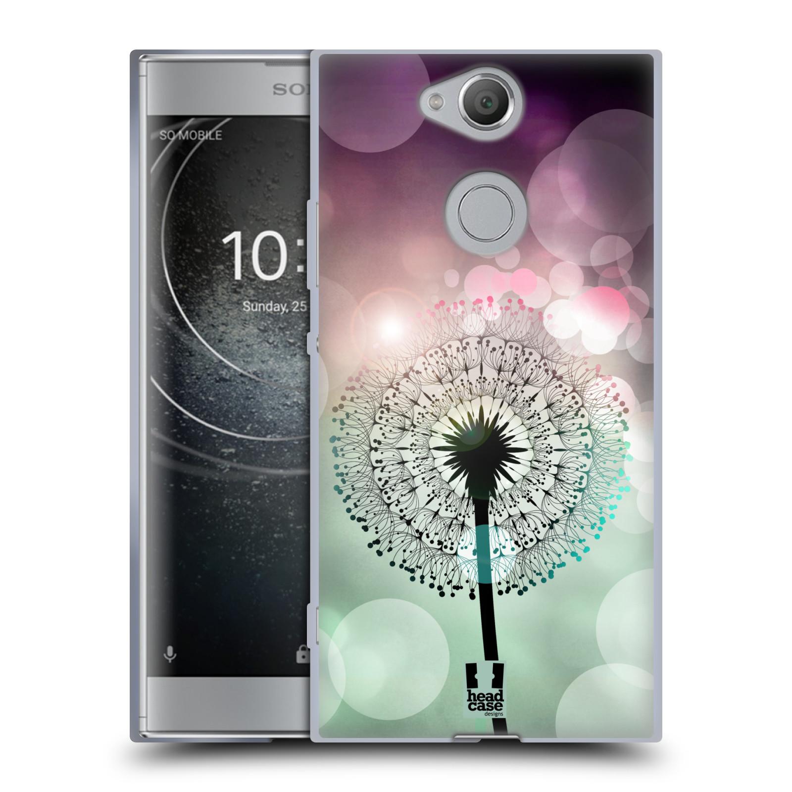 Silikonové pouzdro na mobil Sony Xperia XA2 - Head Case - Pampeliškové odlesky