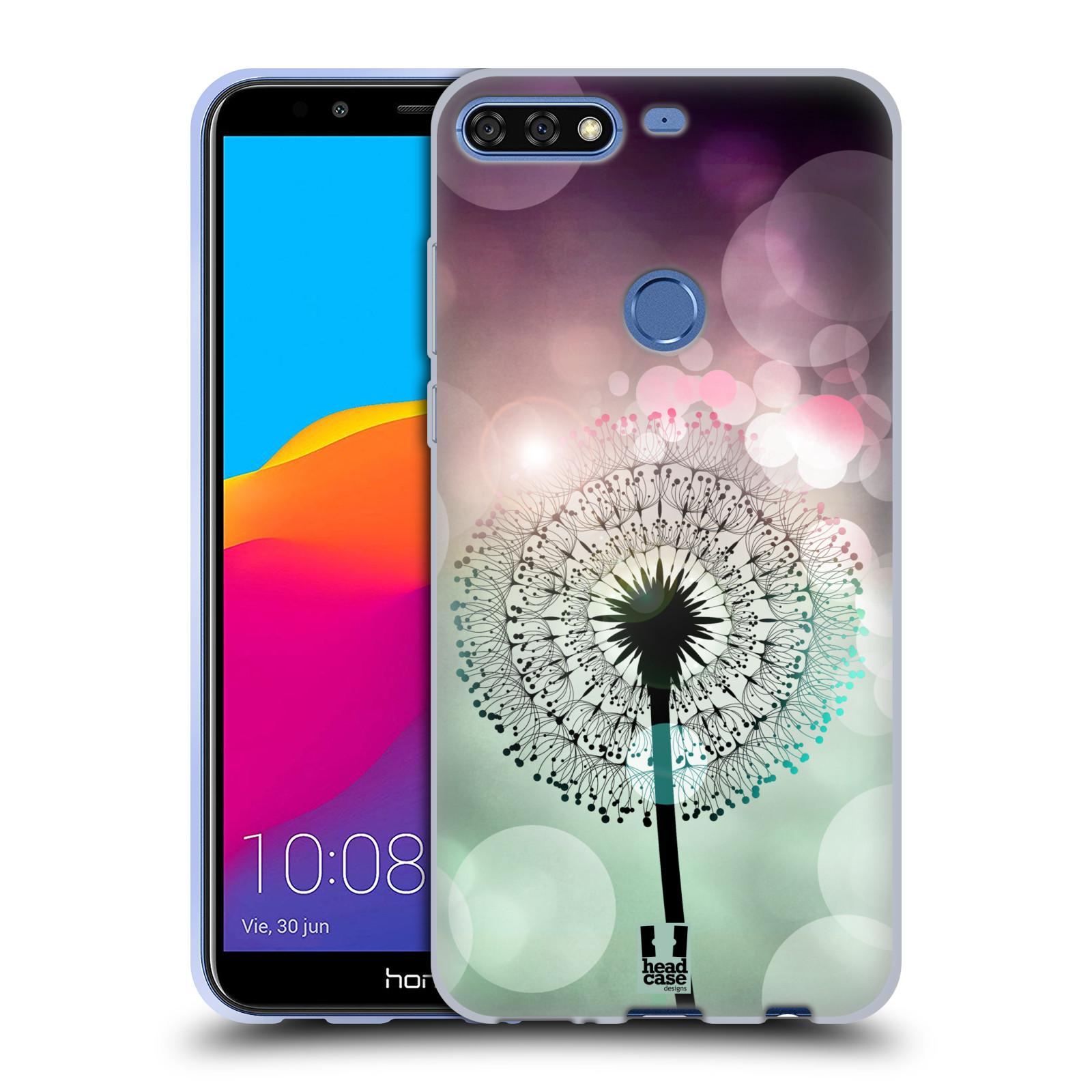 Silikonové pouzdro na mobil Huawei Y7 Prime (2018) - Head Case - Pampeliškové odlesky